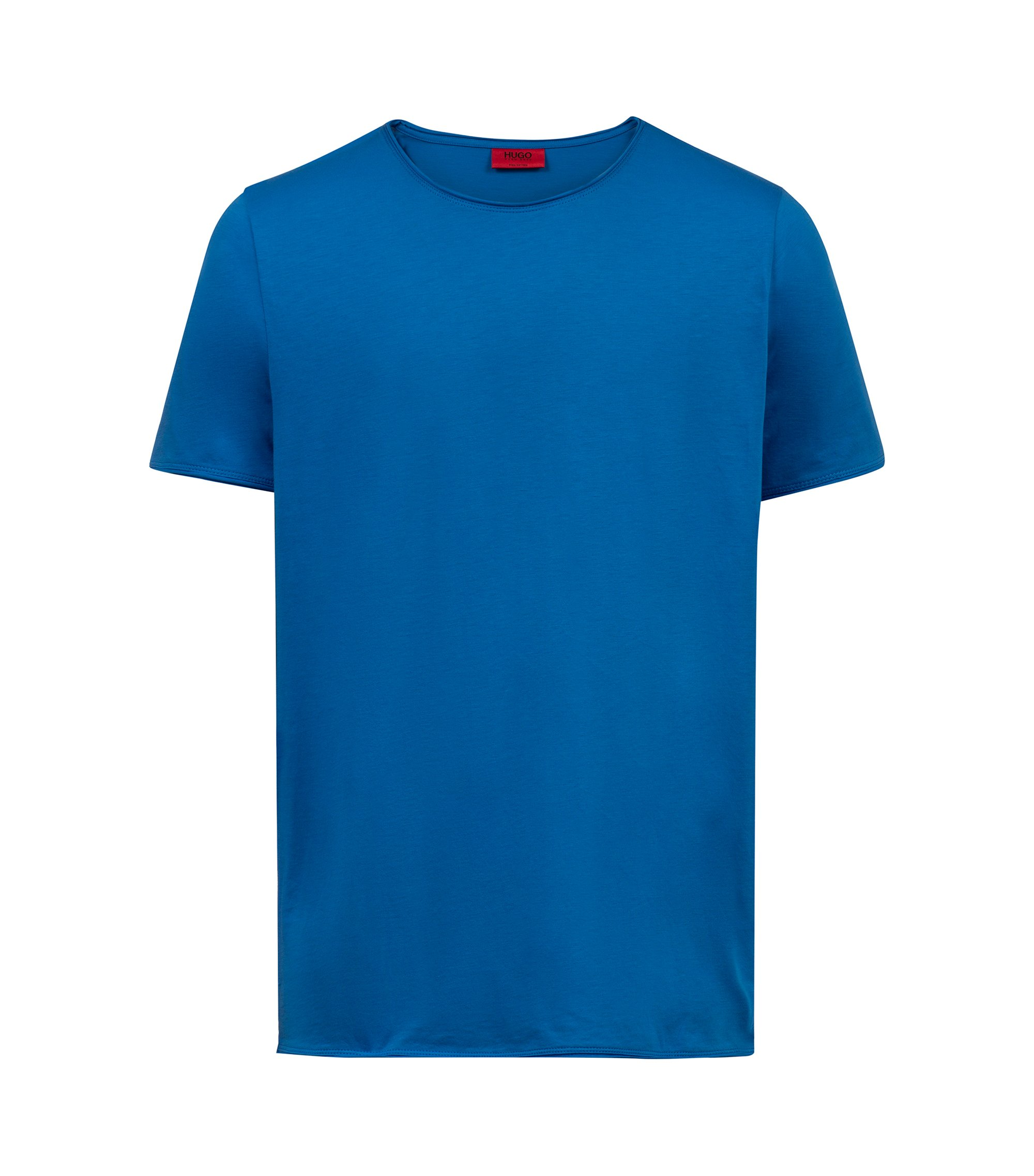 Regular-fit T-shirt in Pima cotton, Blue