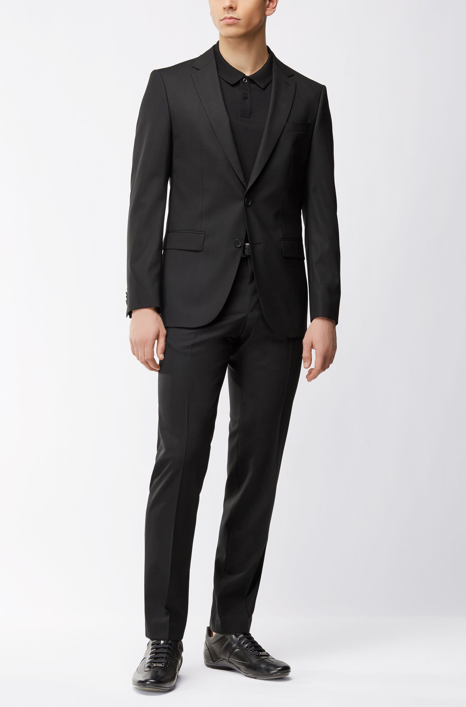 Mercedes-Benz Virgin Wool Blend Suit, Slim Fit | Nobar/Beil MB