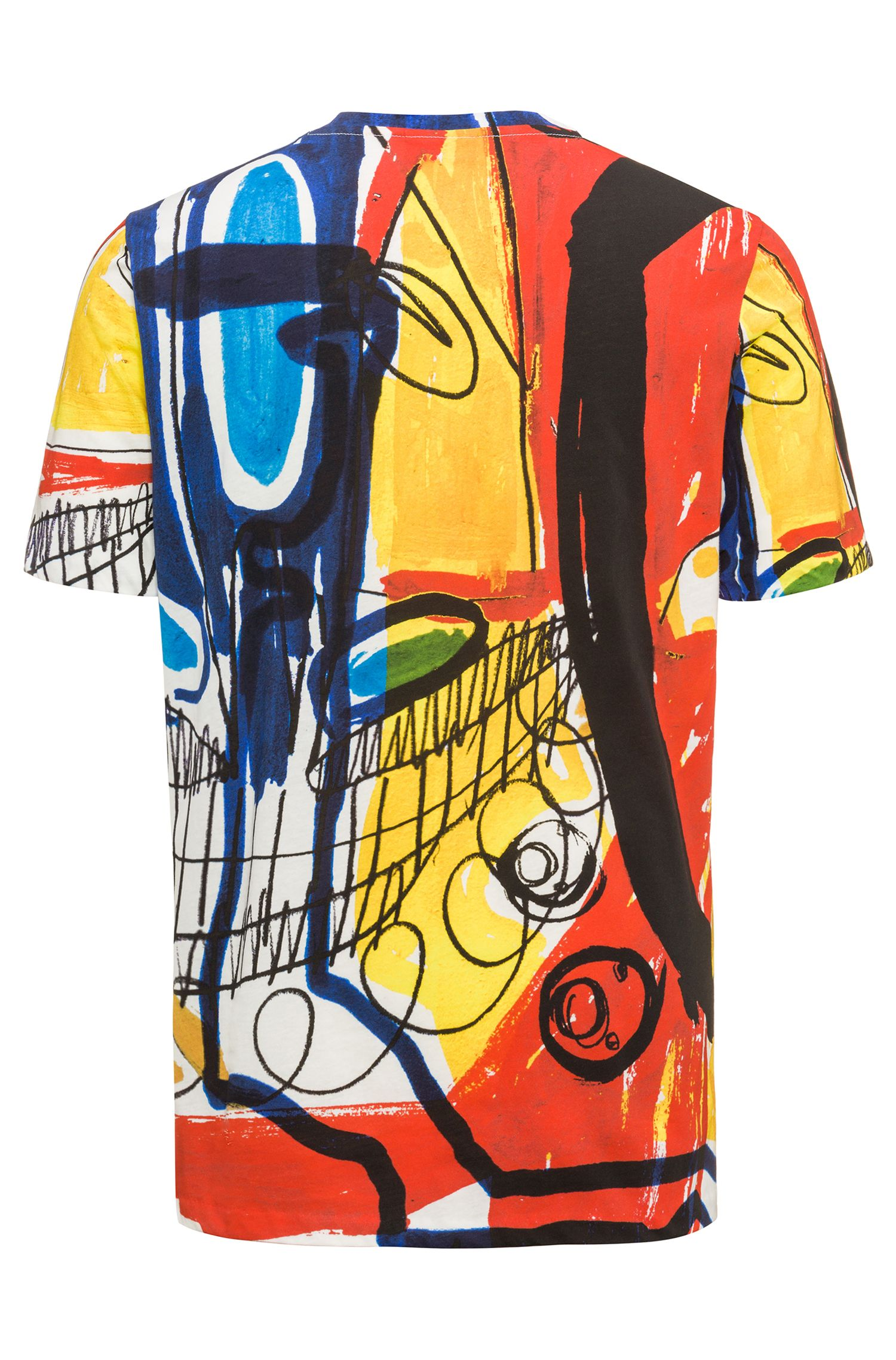 Abstract Cotton T-Shirt | Dolorful