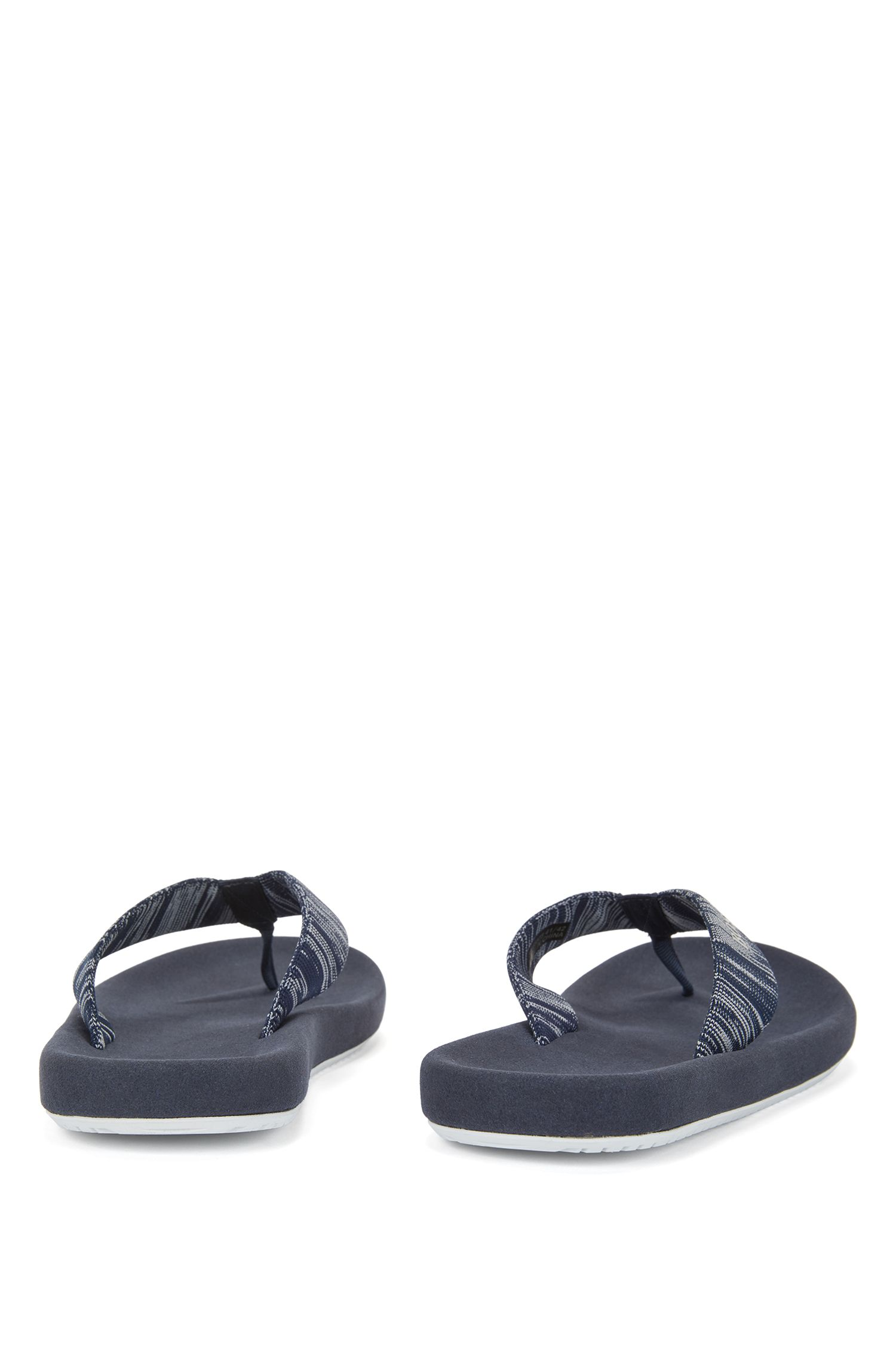 Knit Thong Sandal | Shoreline Thng Knit, Dark Blue
