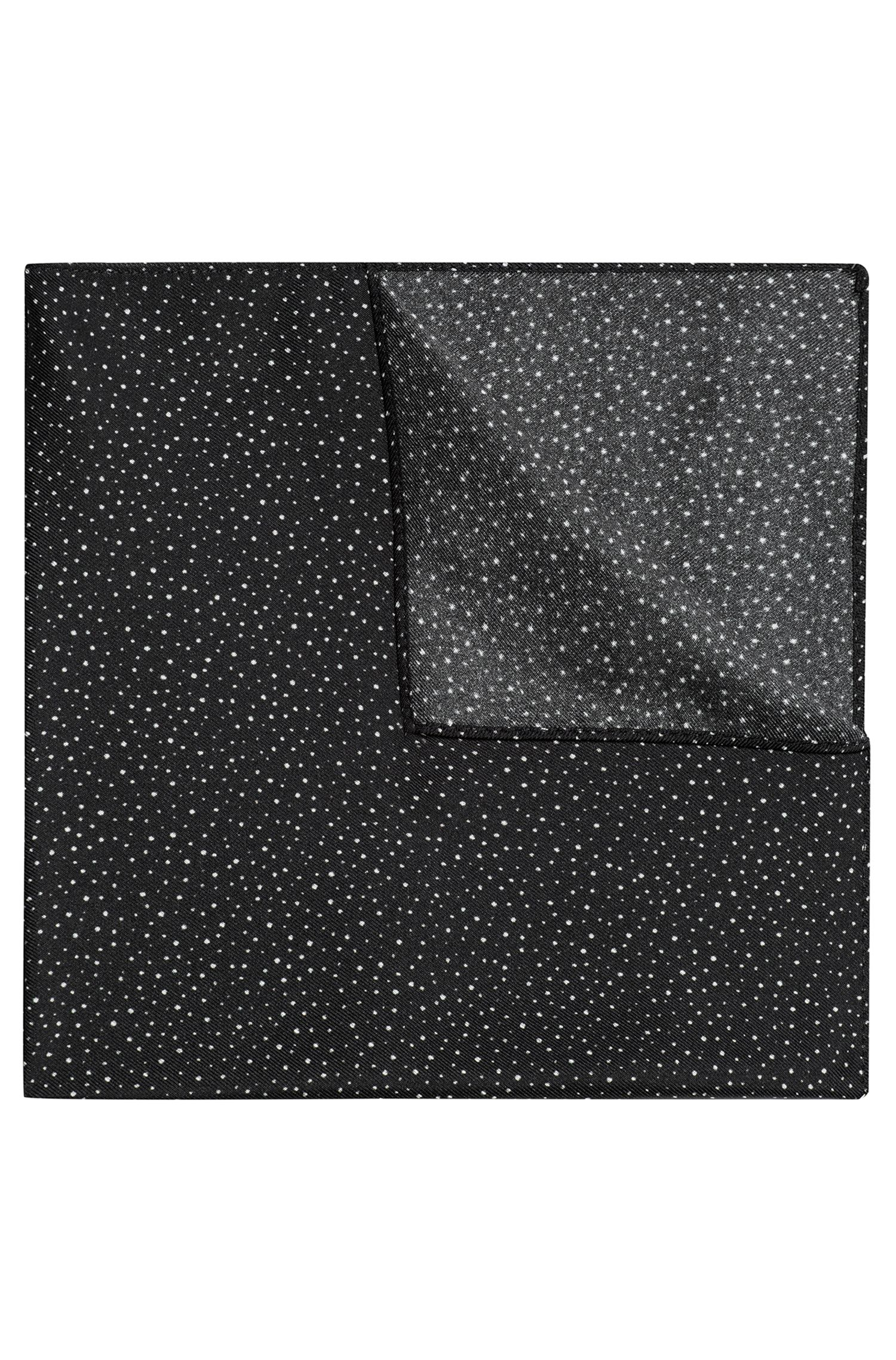 Speckle Dot Italian Silk Pocket Square