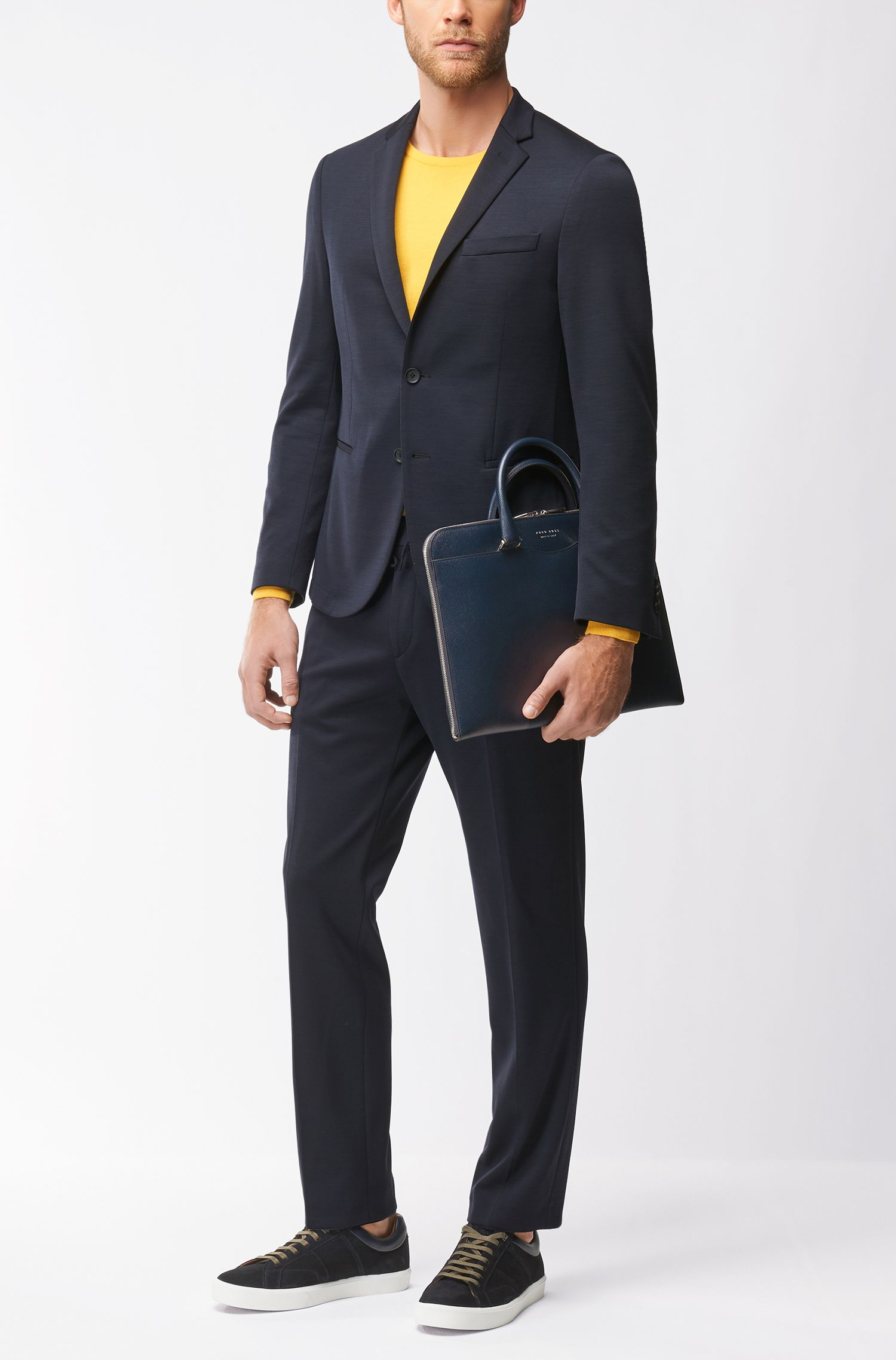Leather Portfolio Case | Signature Folio Slim