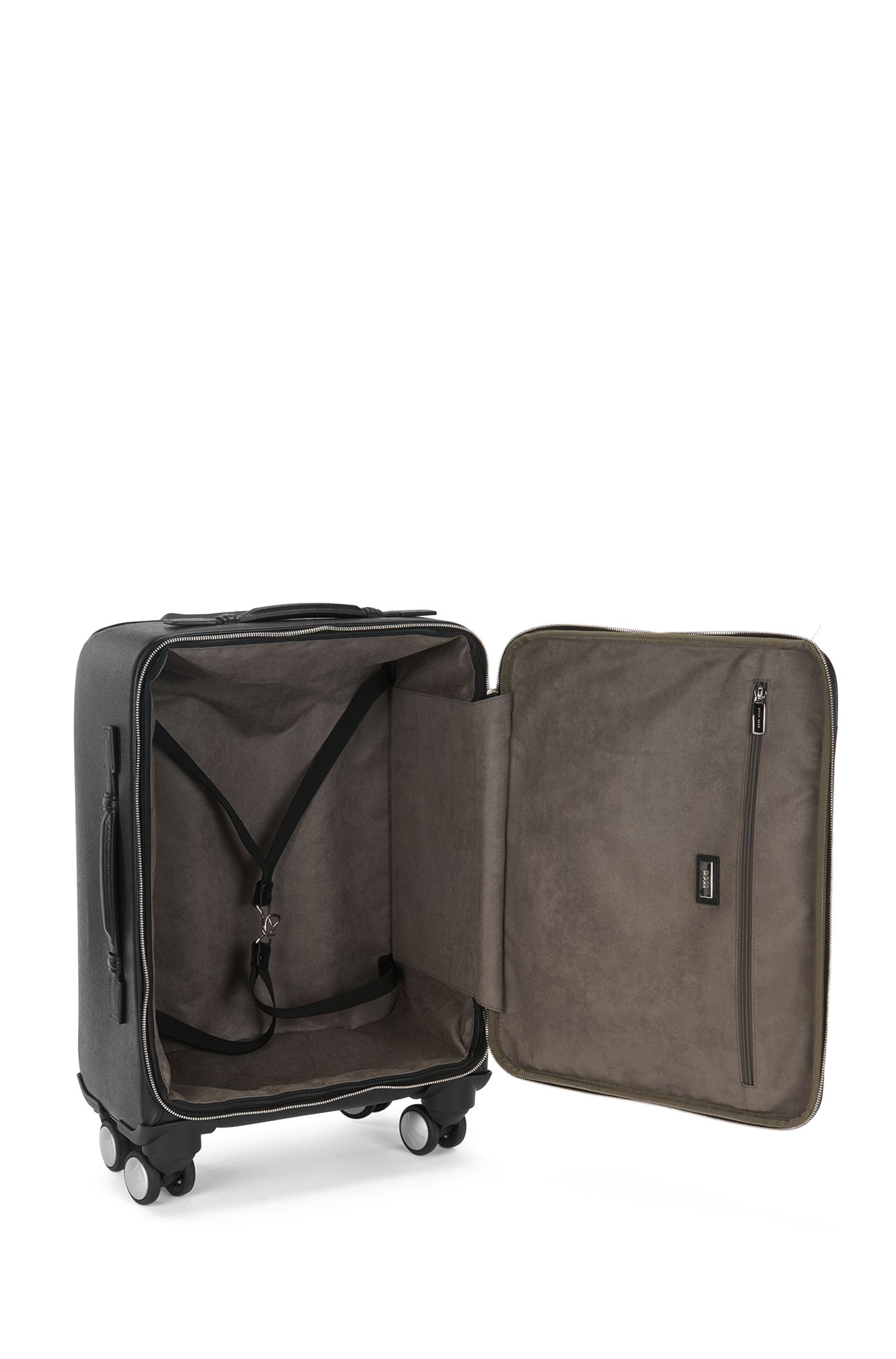 Palmellato Leather Carryon Luggage | Signature Trolley S18