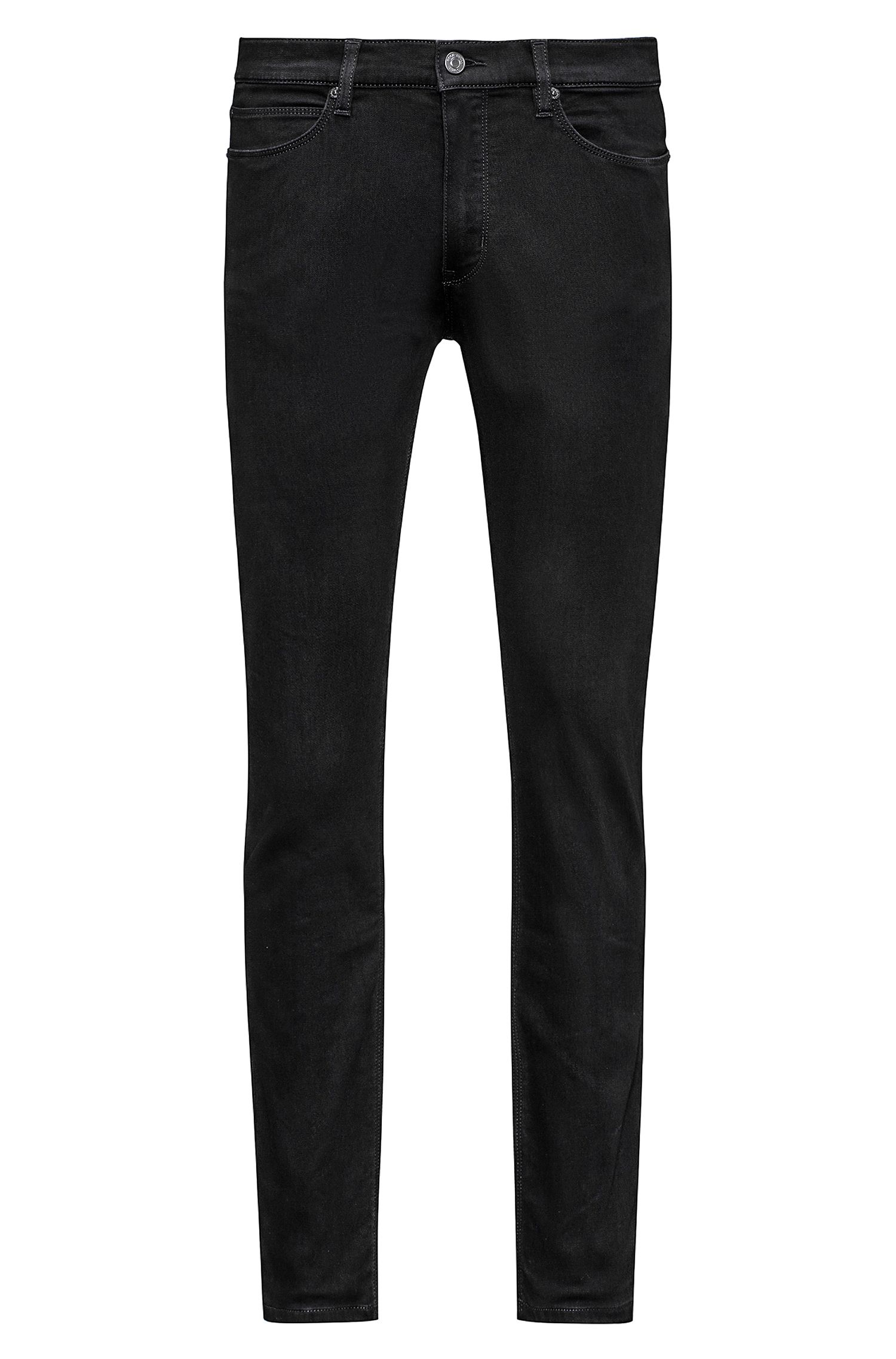 Stretch Cotton Blend Pant, Skinny Fit | HUGO 734