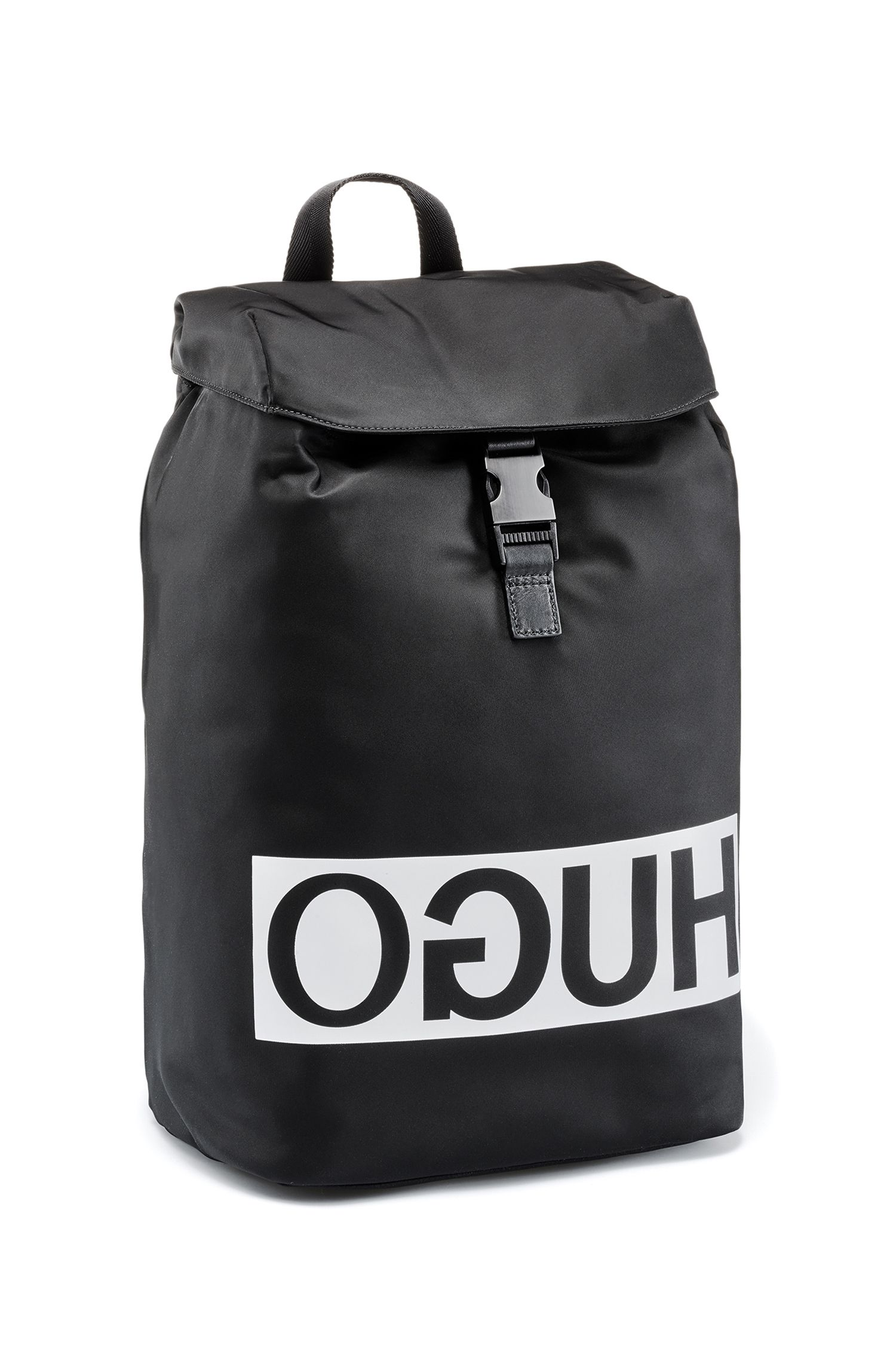 Nylon Rucksack | Tribute Backpack, Black