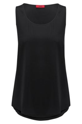 Silk Blend Top | Cendis, Black