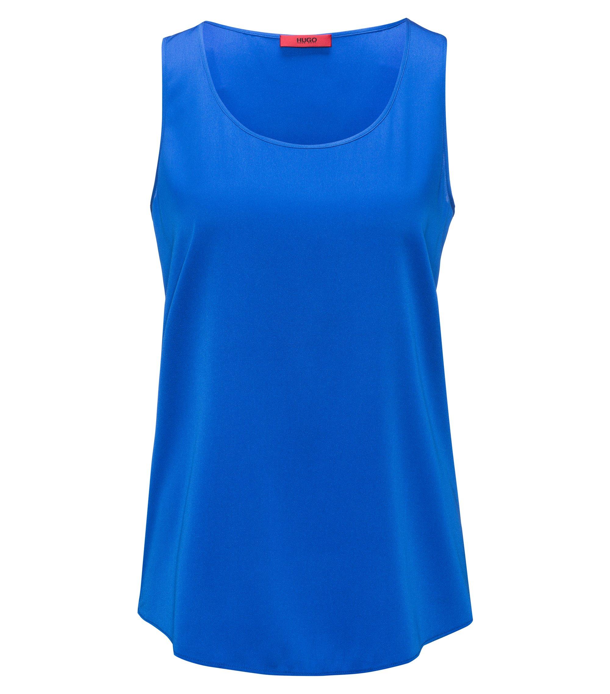 Silk Blend Top | Cendis, Blue