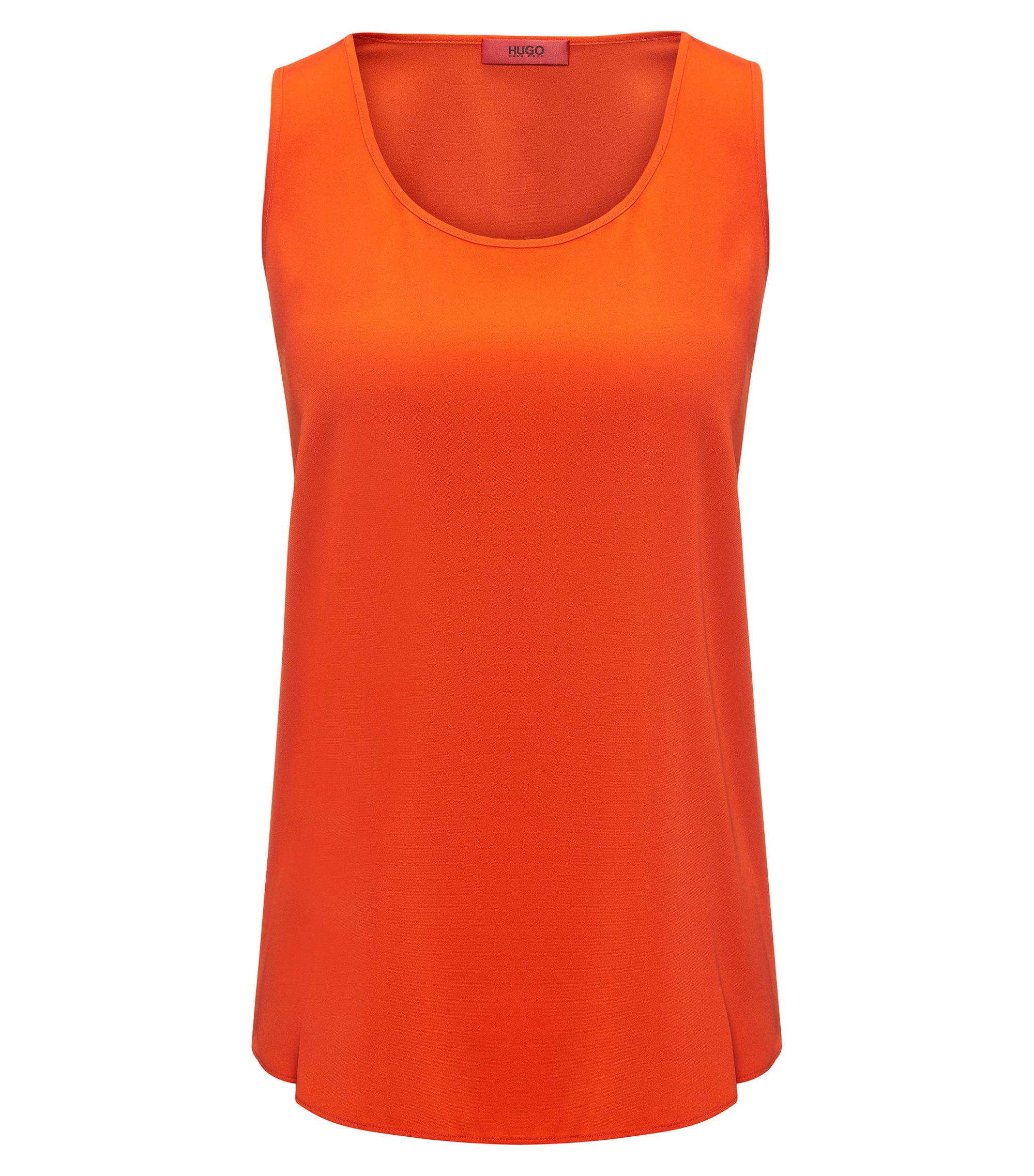 Silk Blend Top | Cendis, Orange