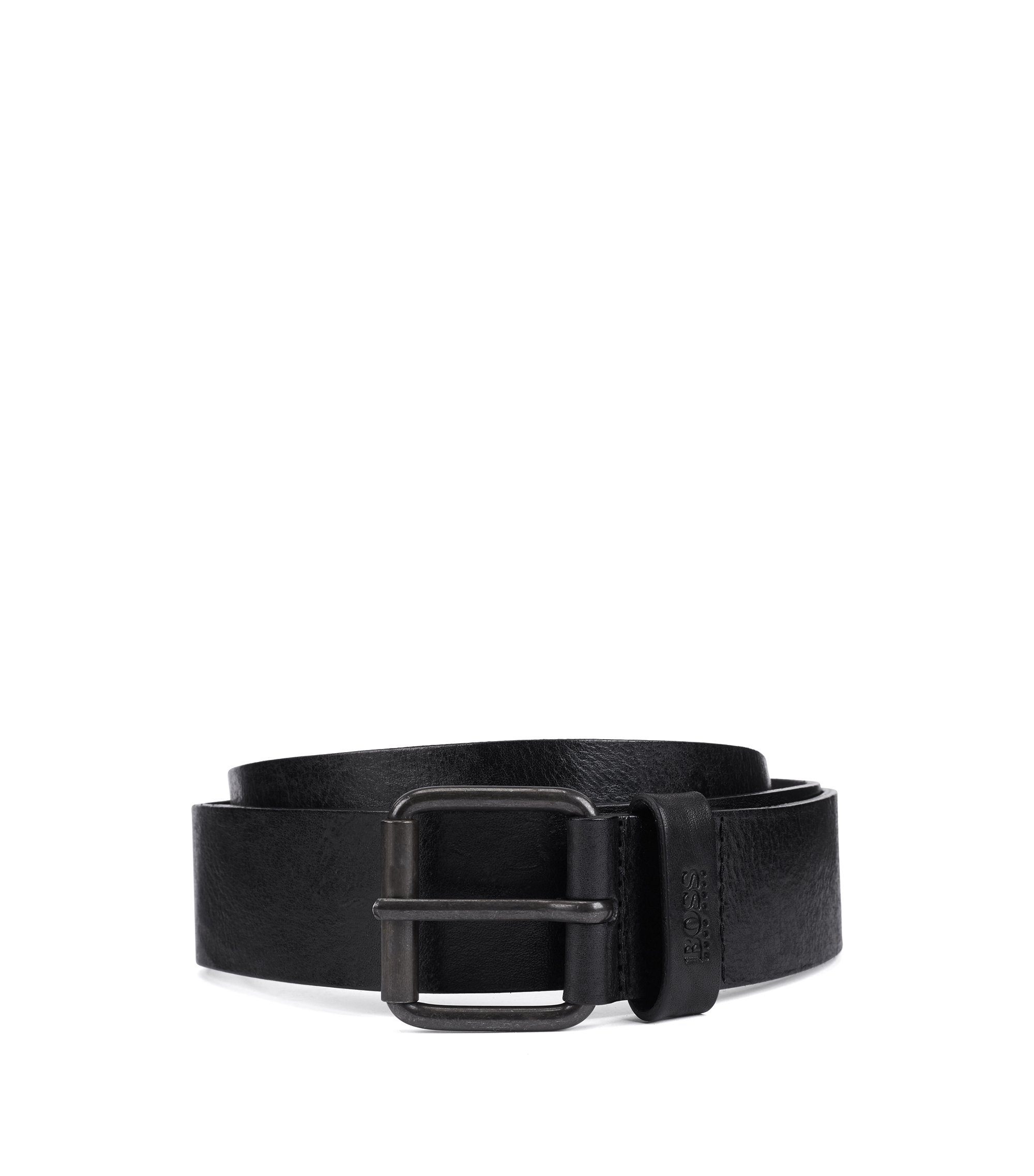 Leather Belt | Jesse, Black
