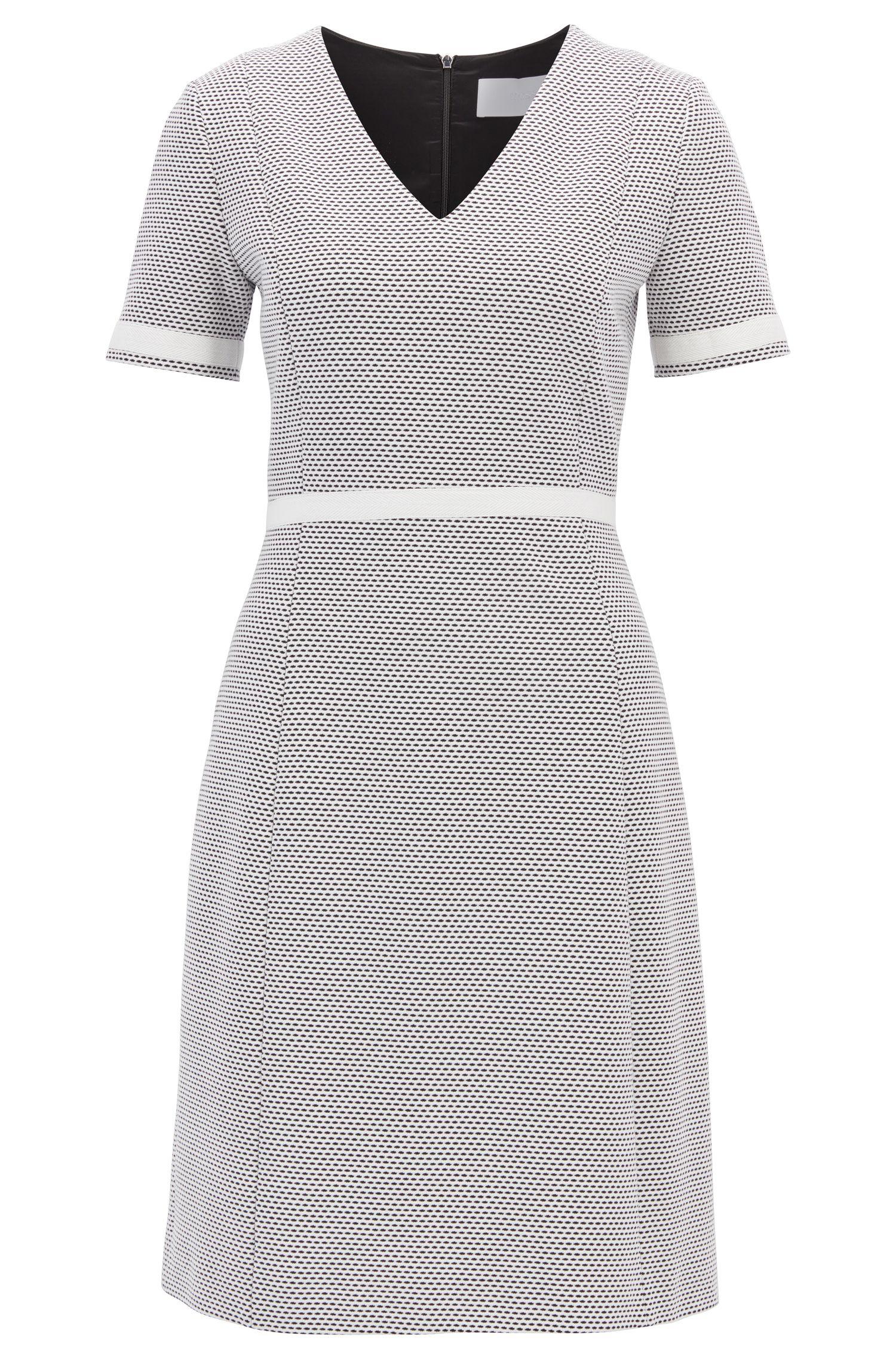 V-Neck Dress   Higaniu