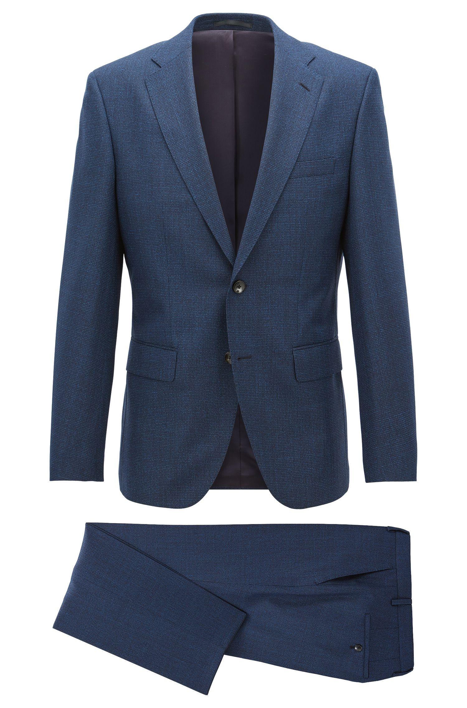 Virgin Wool Suit, Regular Fit   Johnstons/Lenon