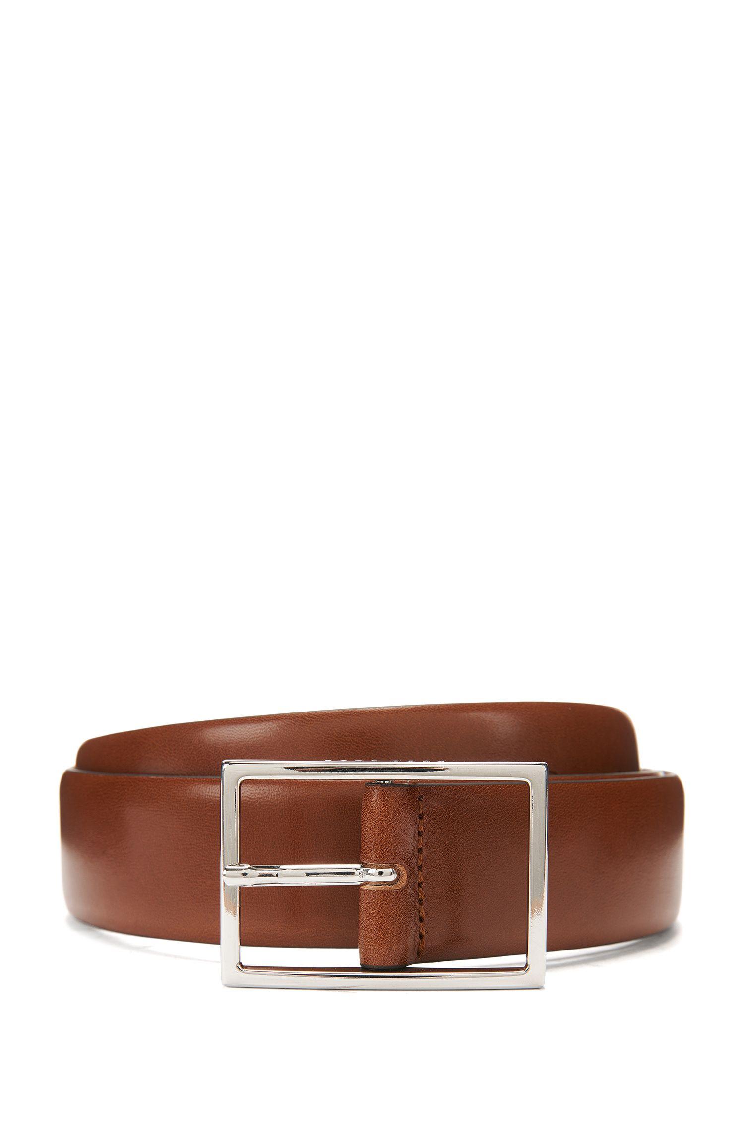 Leather Belt | Carmine