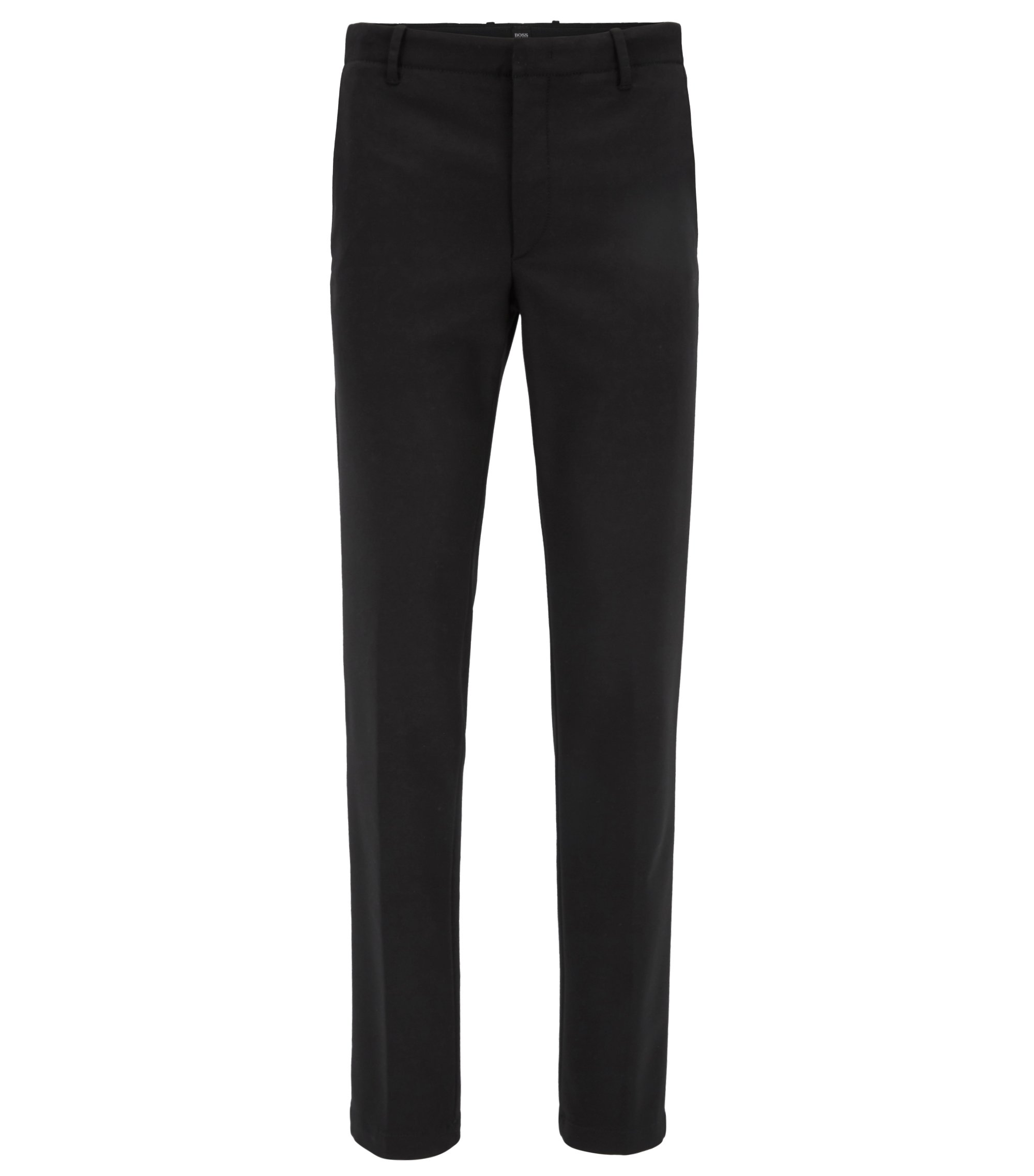 Mercedes-Benz Cotton Blend Pant, Slim Fit | Kaito MB W, Black