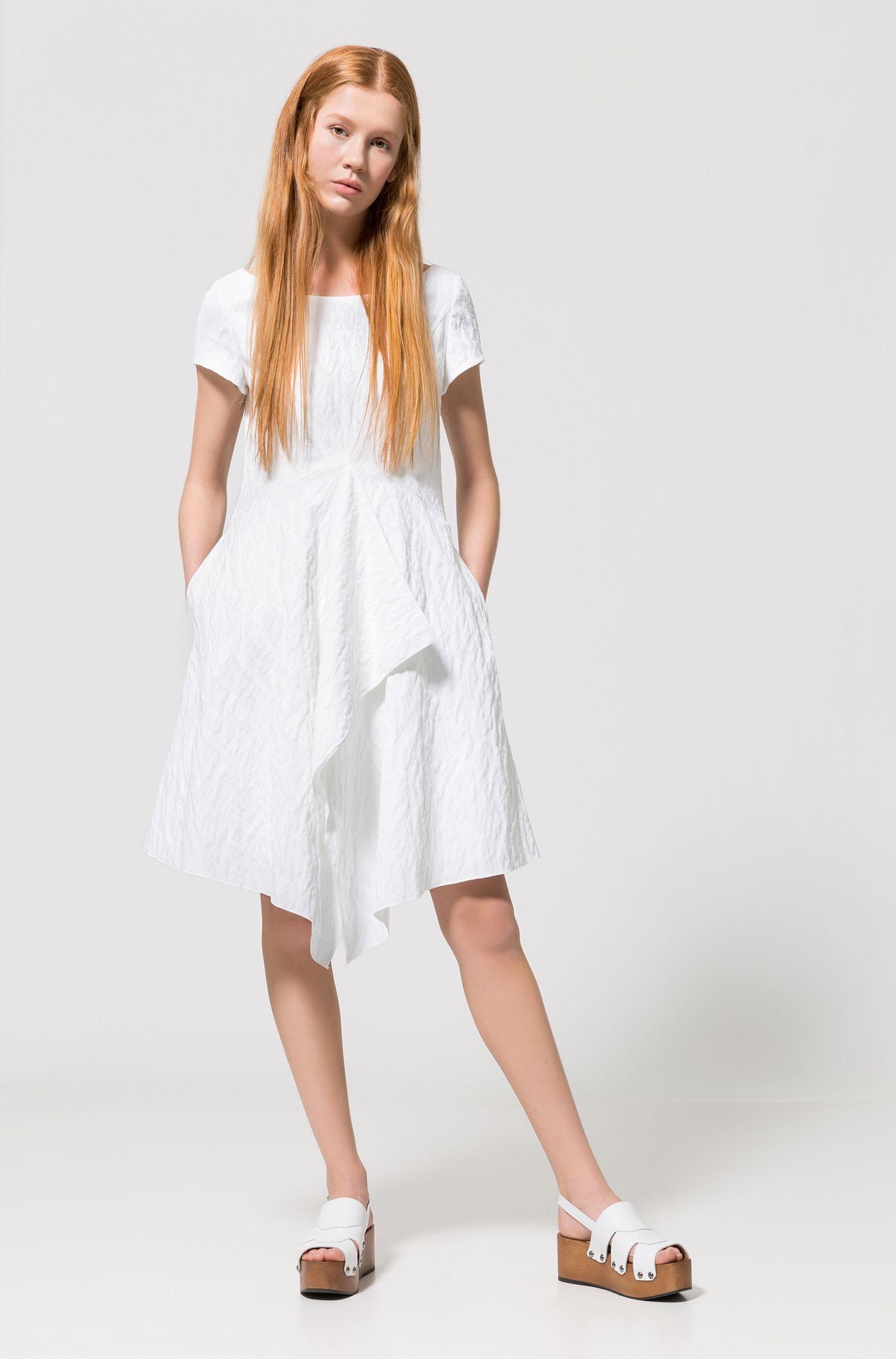 Ruffled Dress | KIenia, Natural