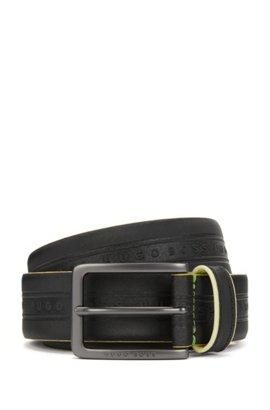 Belt for Women On Sale, Black, Leather, 2017, Small Medium Large Twin-Set
