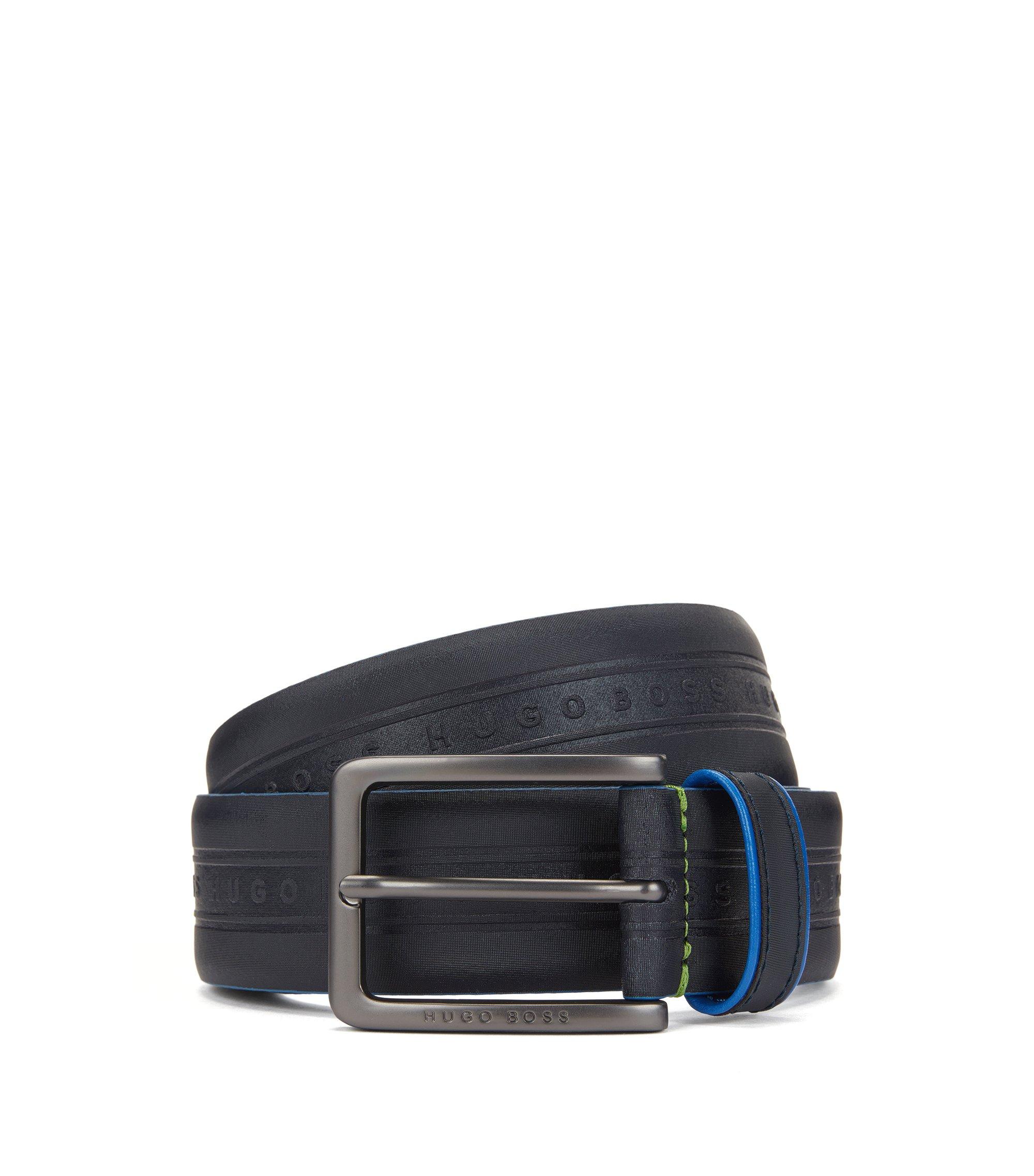 Leather Belt   Tedy , Dark Blue