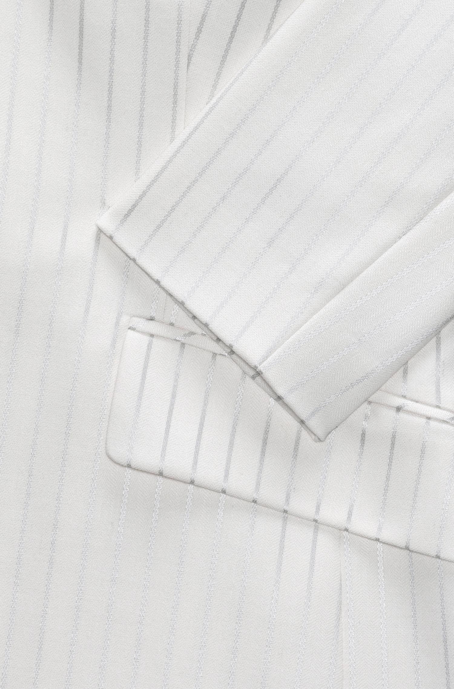 Striped Blazer   Agnesa, Natural