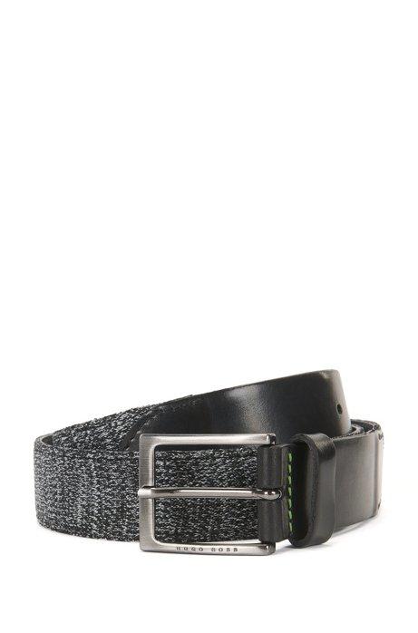 woven belt - Black N hUB2s