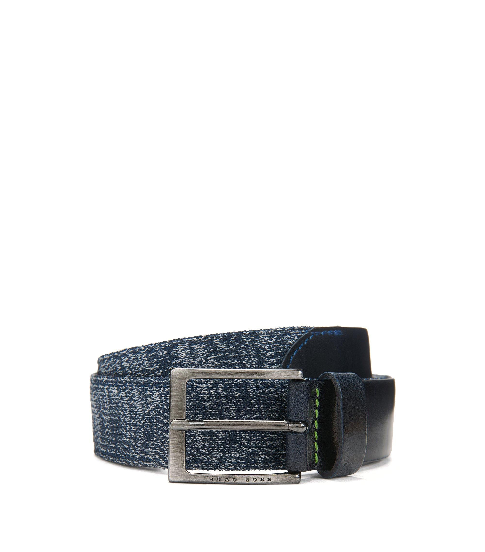 Woven Belt | Talom, Dark Blue