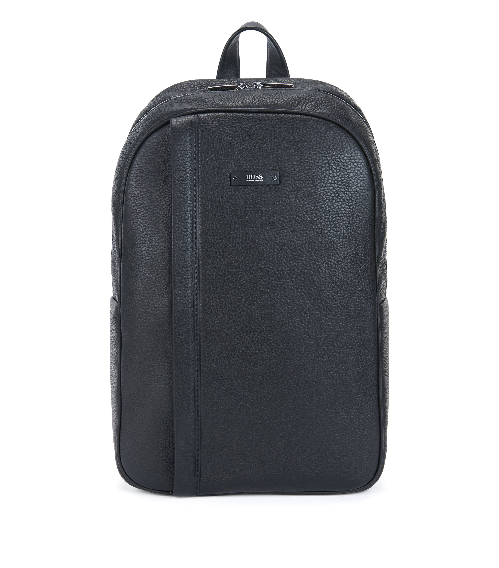 Leather Backpack | Traveller Backp N, Black