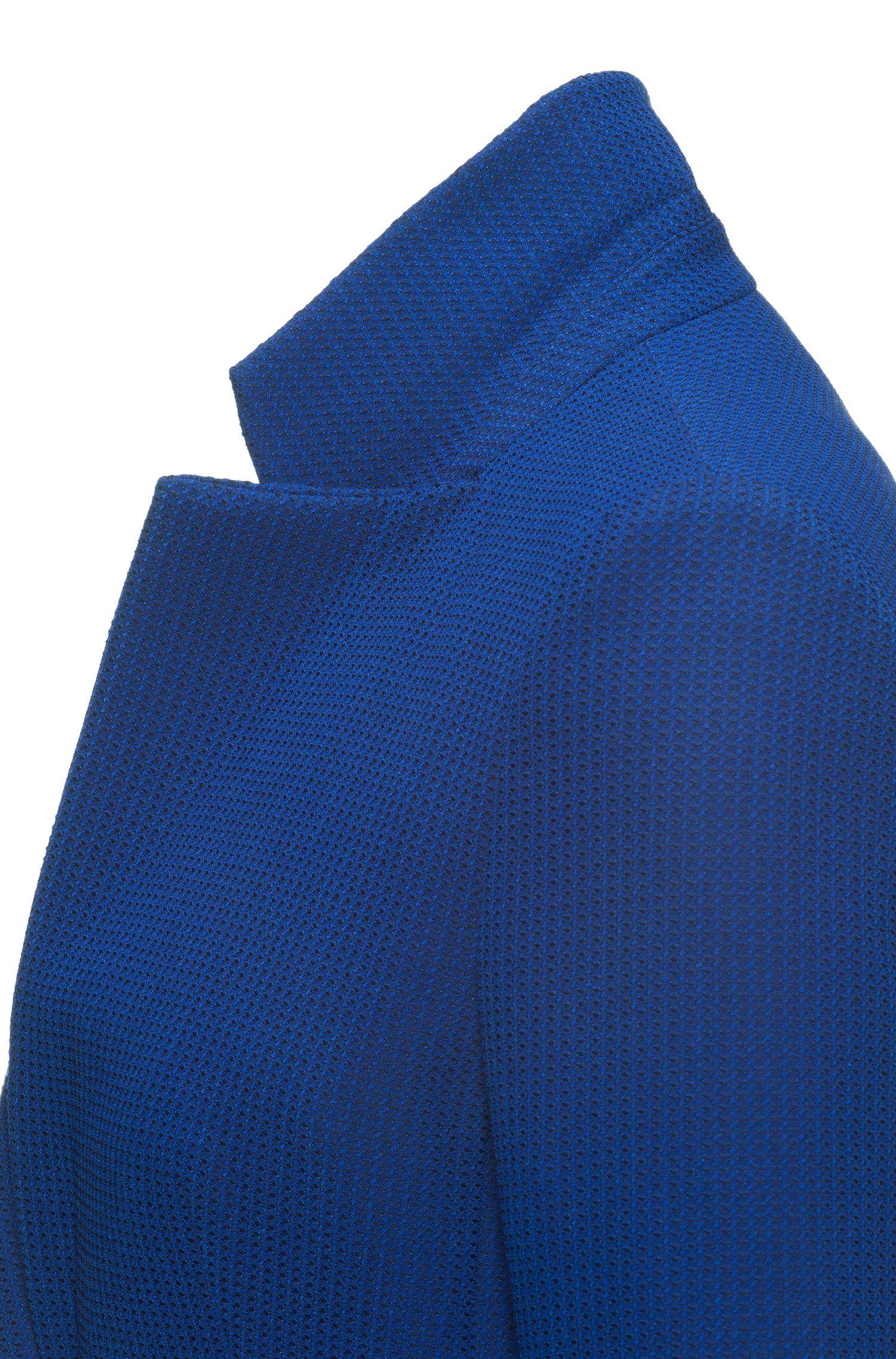 Patterned Cotton Blend Blazer   Asima