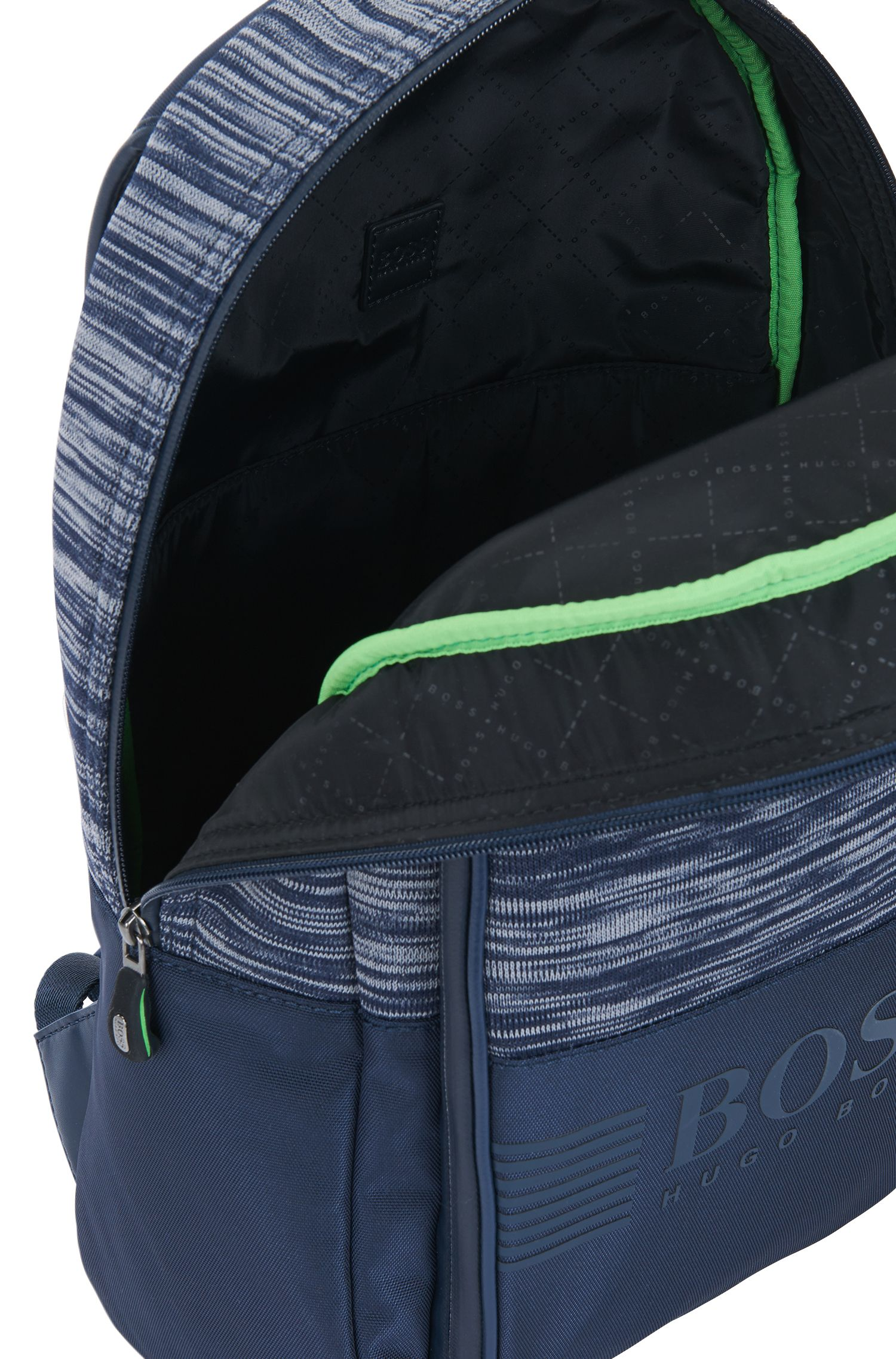 Mélange Knit Backpack | Pixel K Backpack