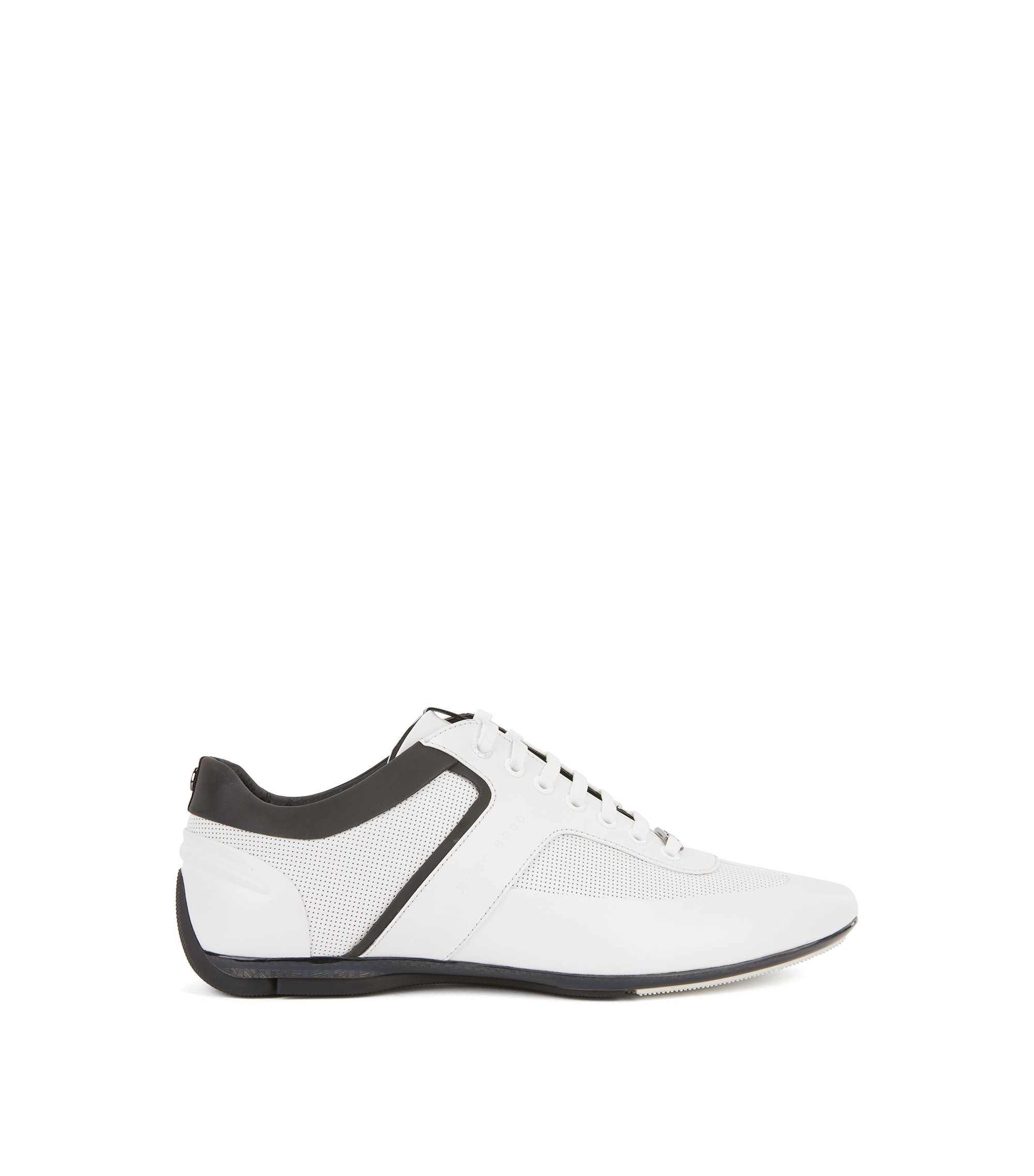Leather Sneaker | Sporty Lowp Mbpr, White