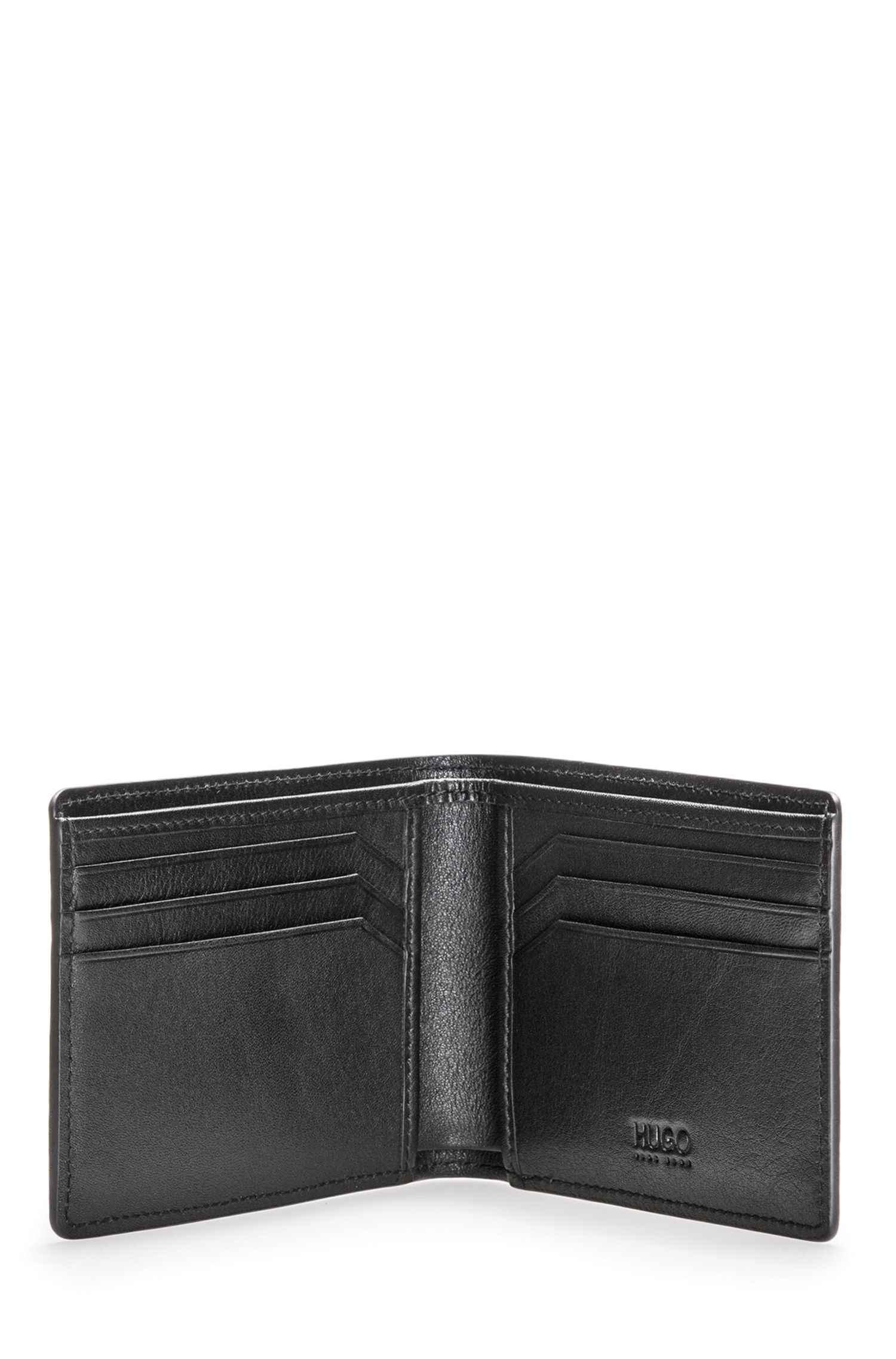Leather Billfold Wallet | Tribute P, Black