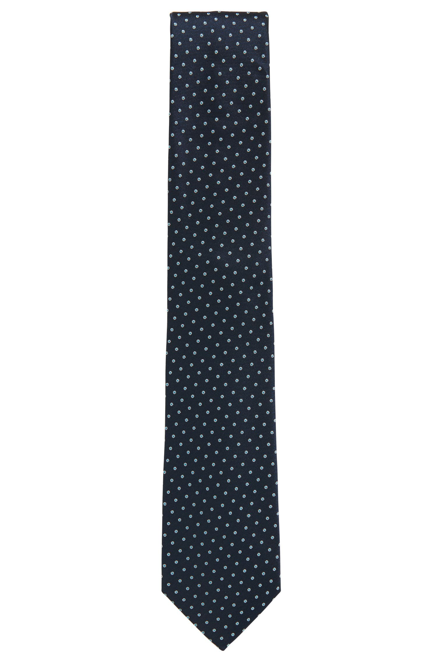 Polka Dot Silk Blend Tie