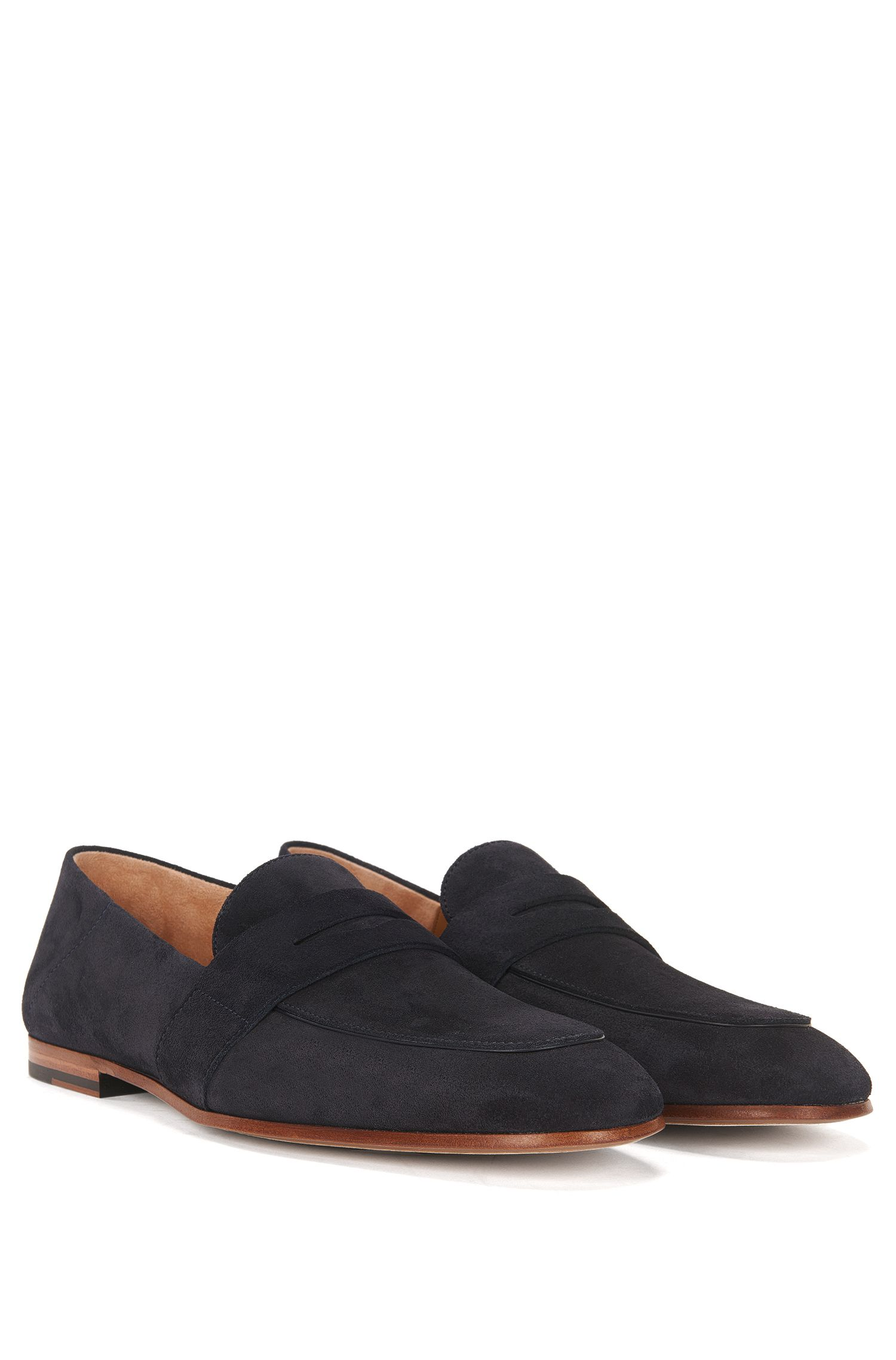 Suede Penny Loafer | Safari Loaf