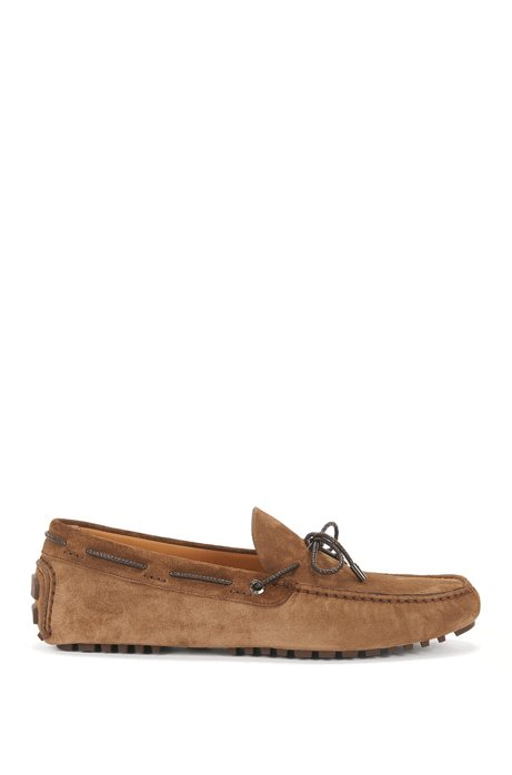 d52f0a46acf BOSS - Suede Driver Loafer