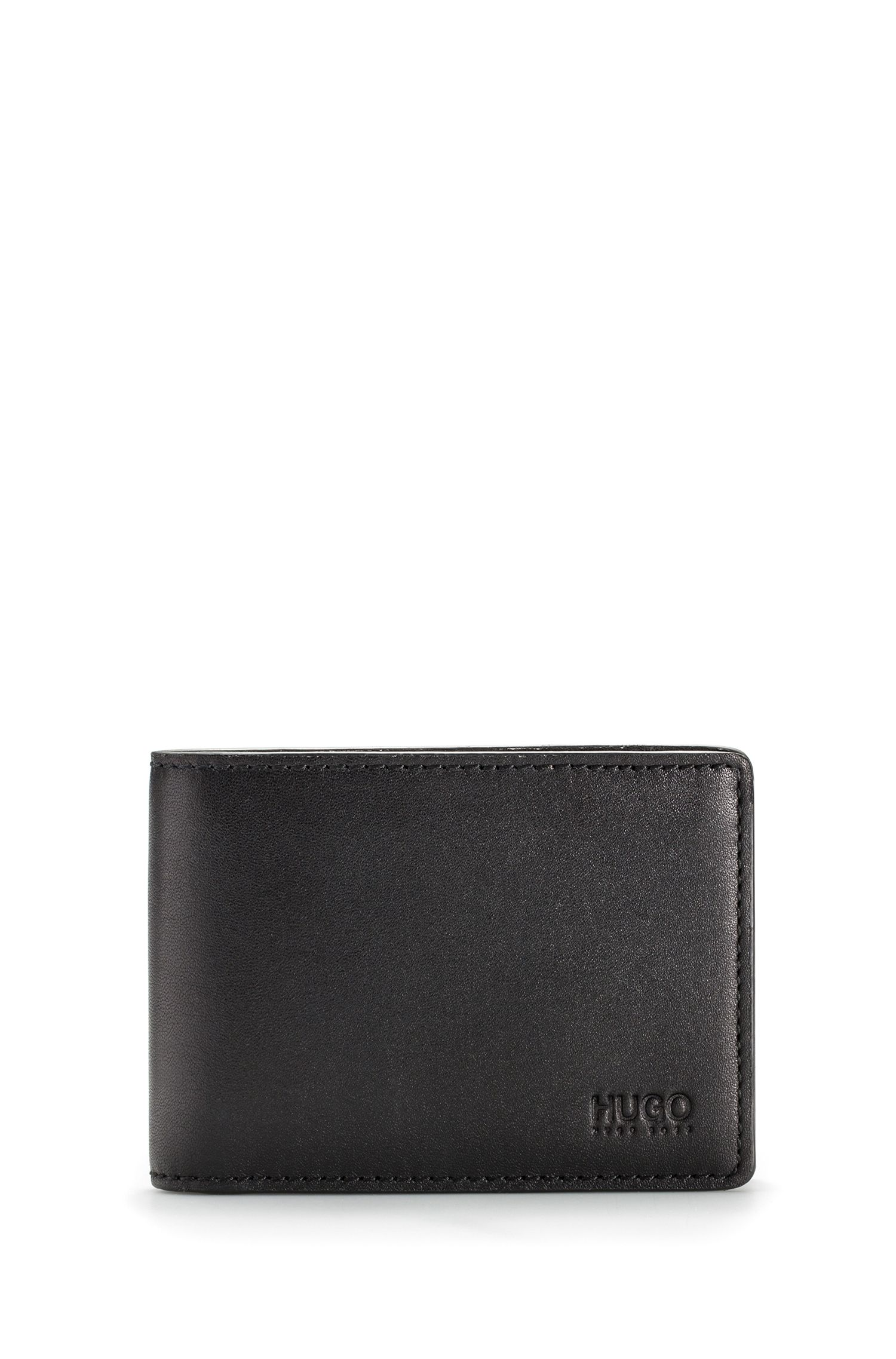 Leather Billfold Wallet | Subway , Black