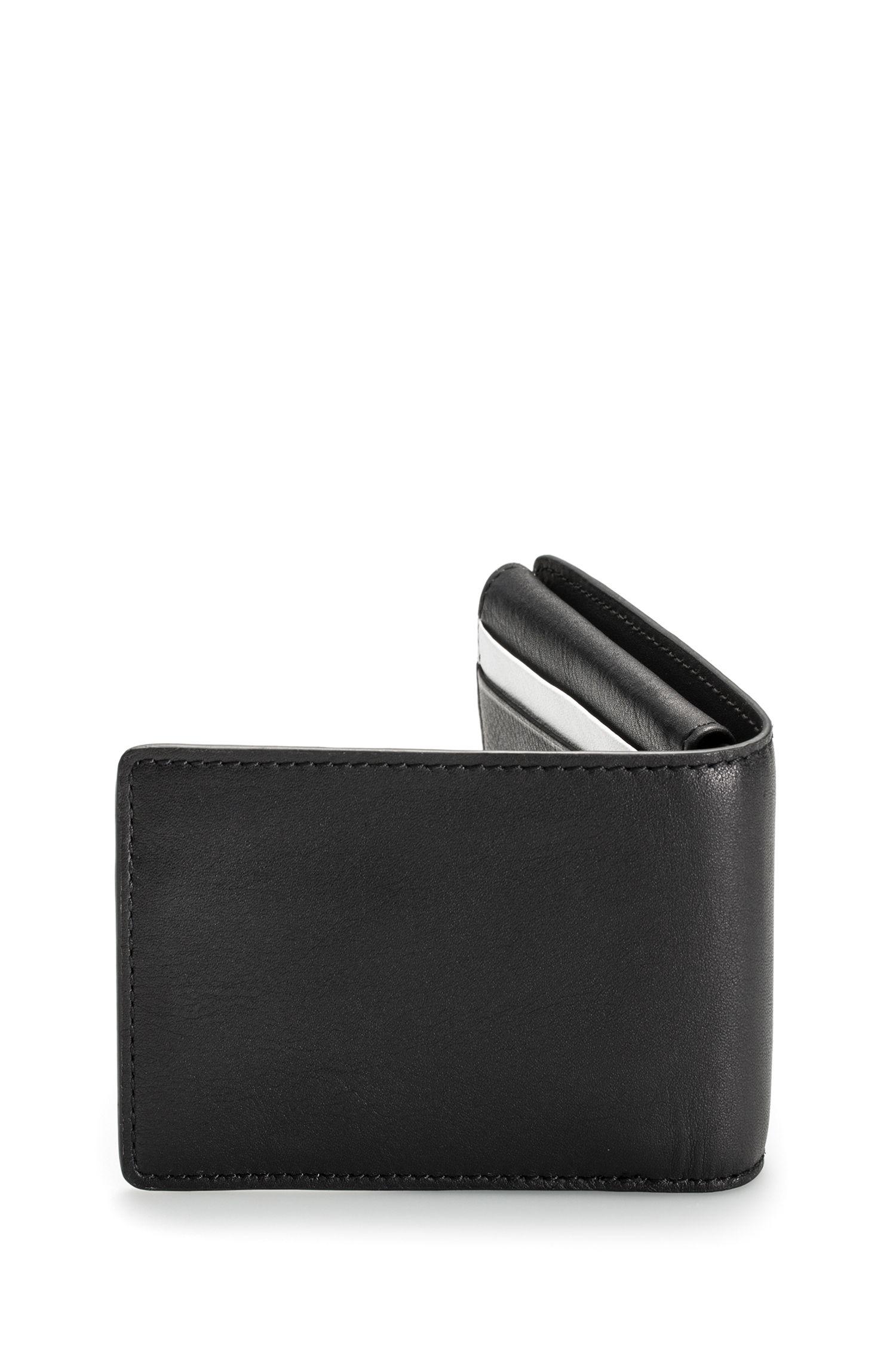 Leather Billfold Wallet | Subway , Black
