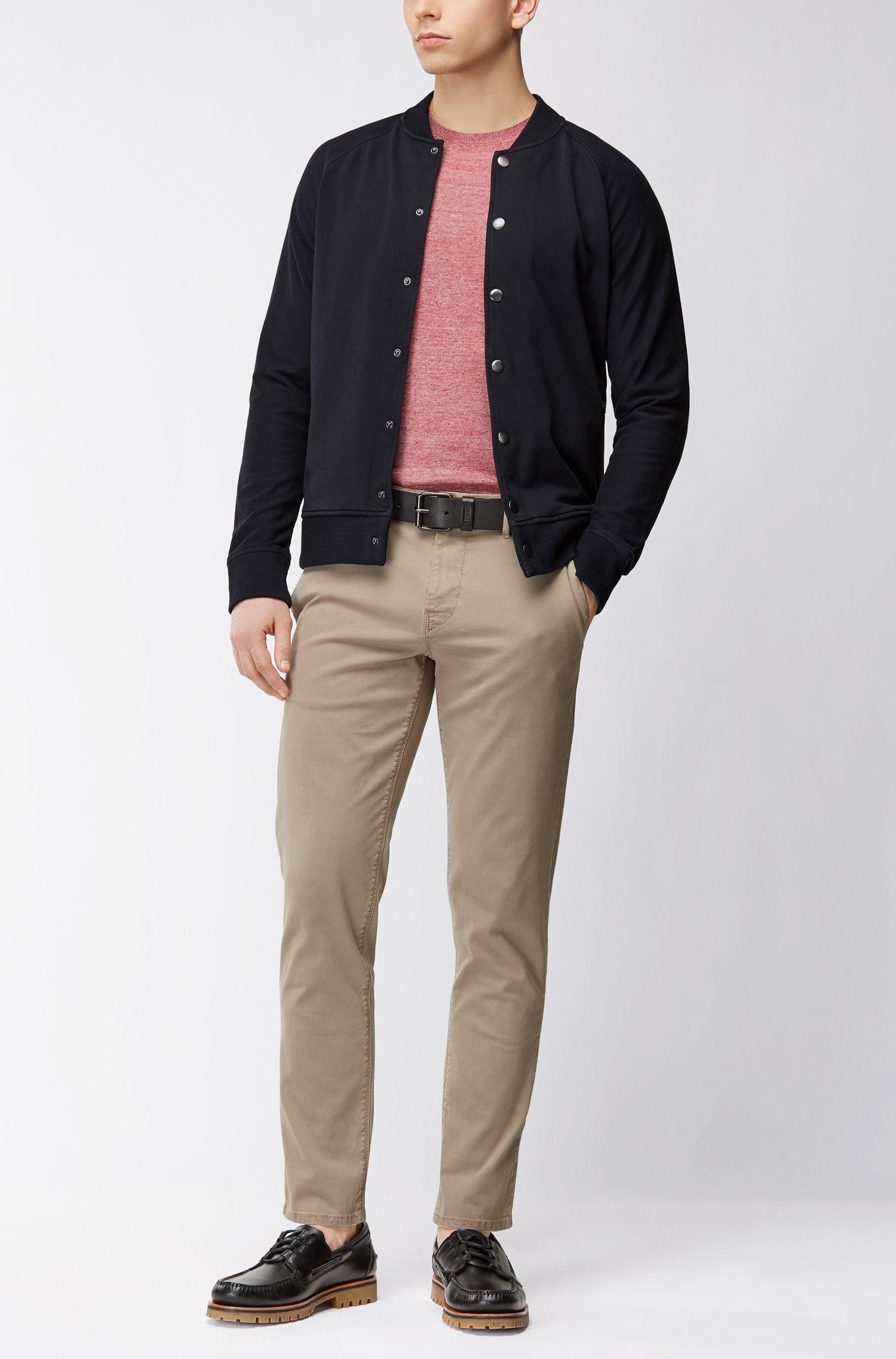 Linen Sweater | Kwasirol, Dark Purple