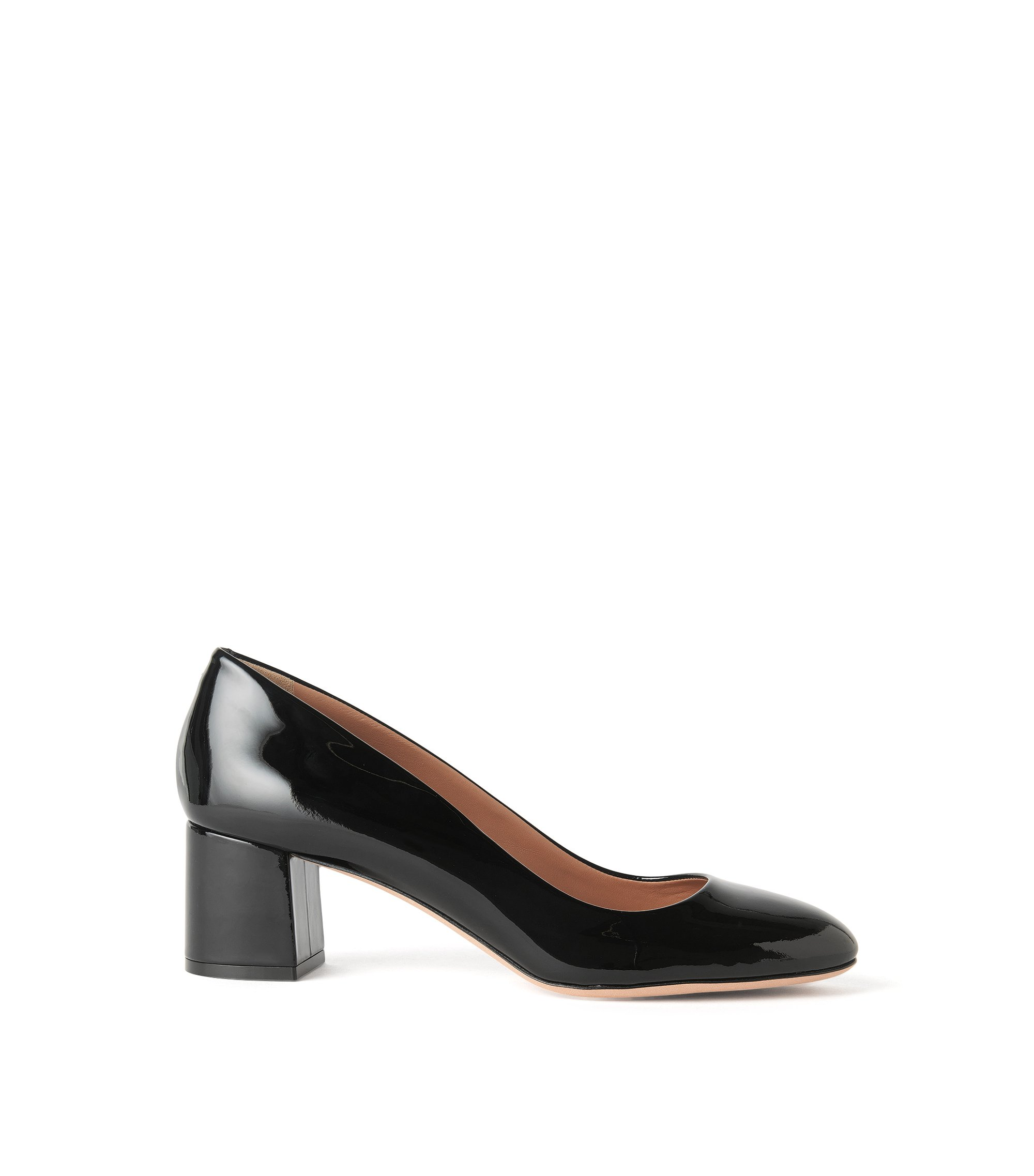 Patent Leather Pump | Taylor Pump, Black