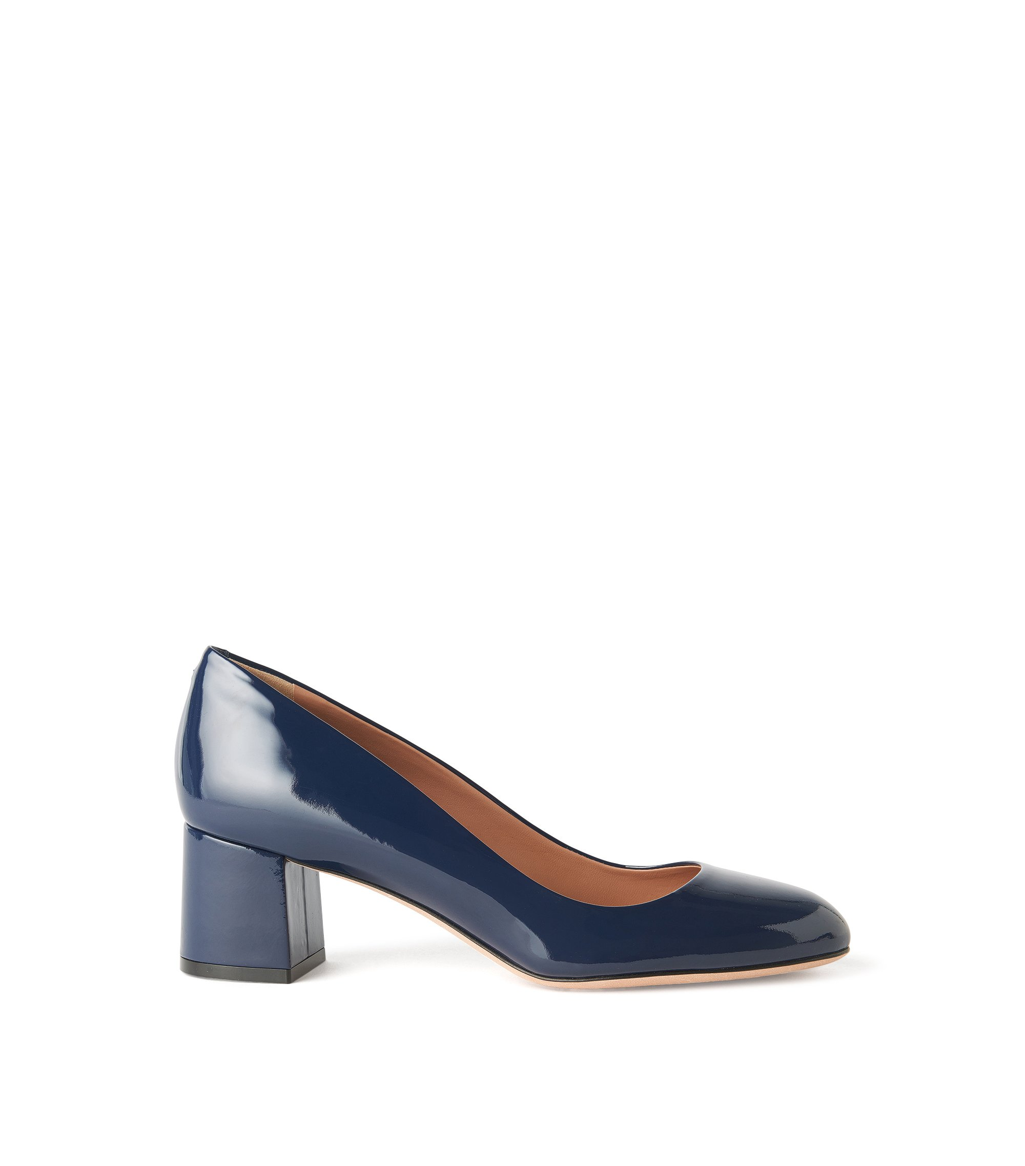 Patent Leather Pump | Taylor Pump, Blue