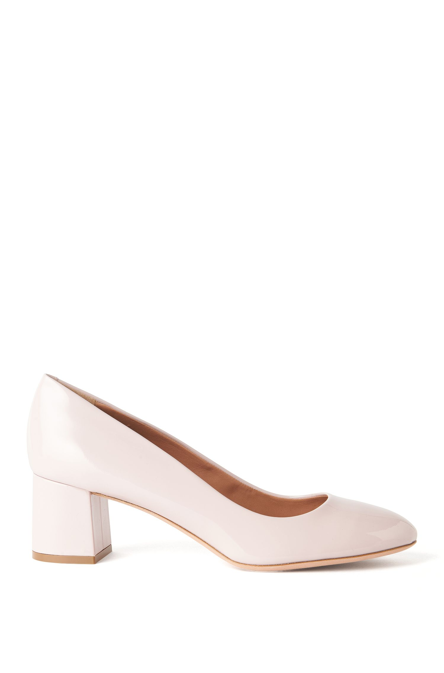 Patent Leather Pump | Taylor Pump, light pink