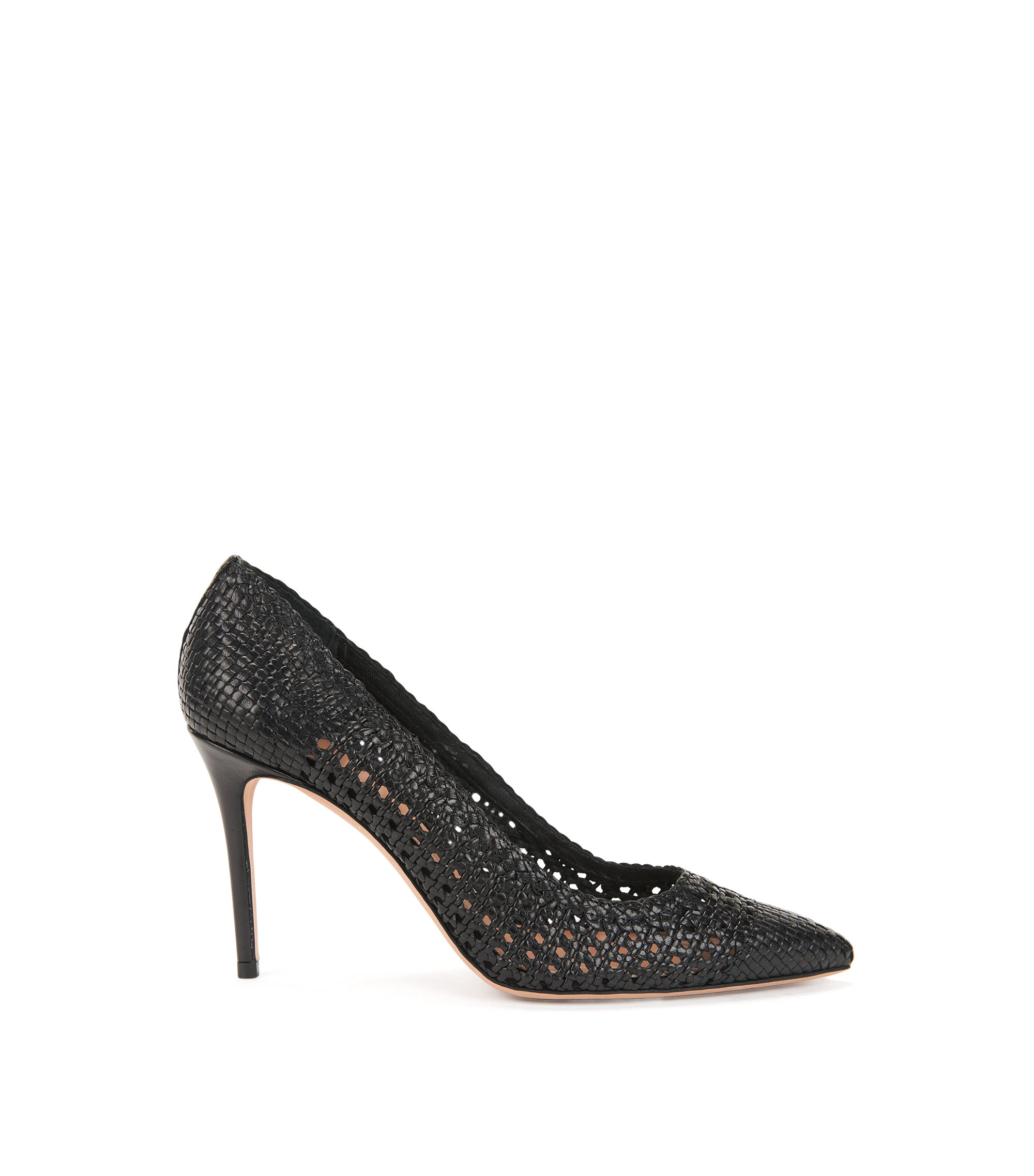 Leather Pump | Eddie Pump, Black