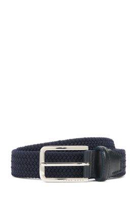 woven belt - Black N°21 OdbXTz9S