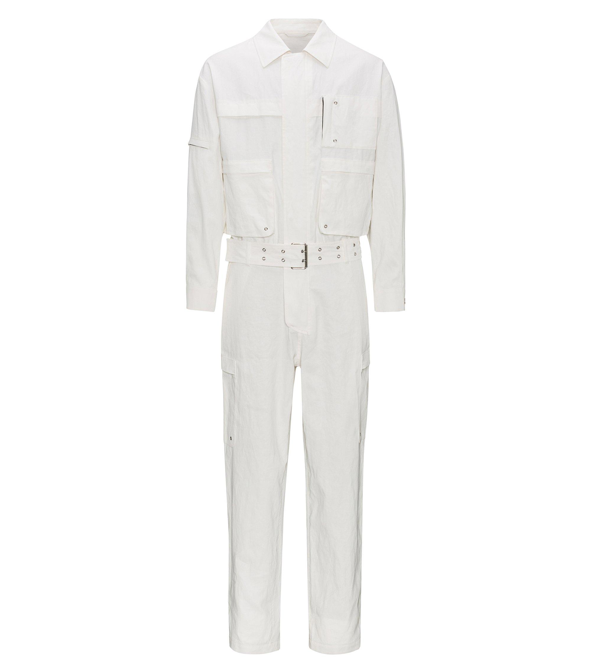 Linen Jumpsuit | Mogayou FS, Natural