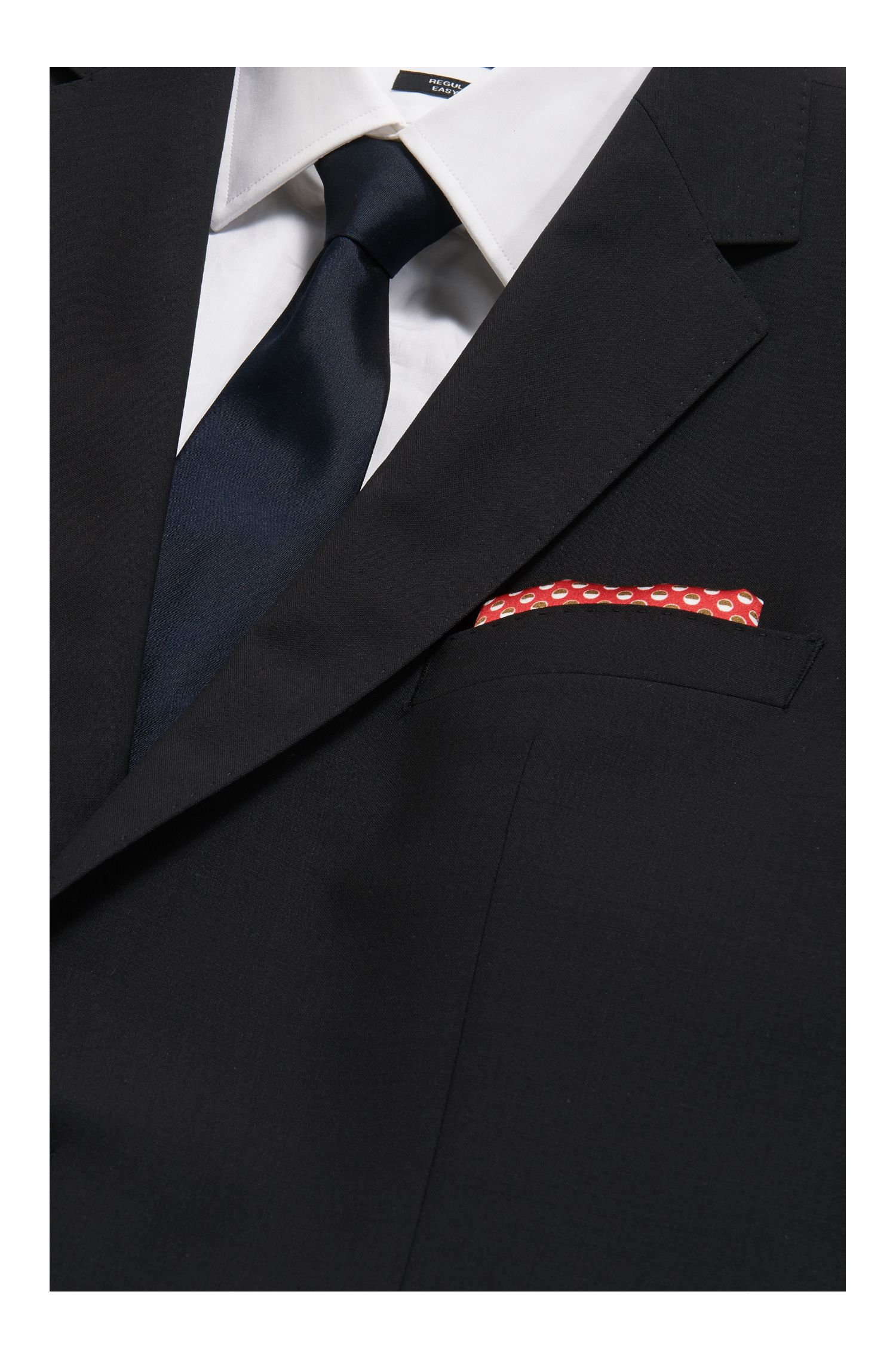 Dotted Silk Pocket Square
