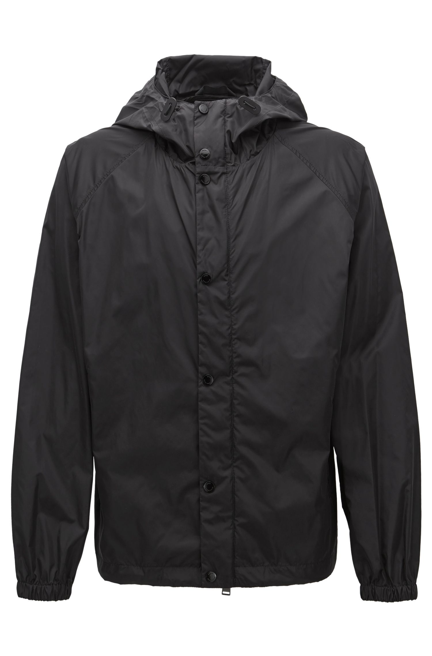 Water-Repellent Windbreaker Jacket | Chester BE, Black