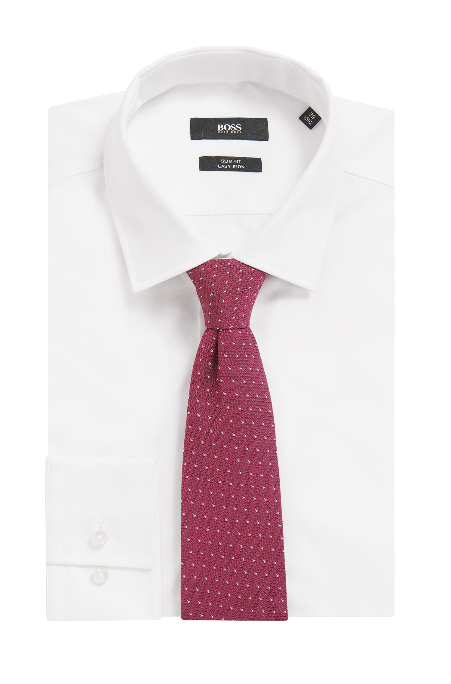 Patterned Jacquard Italian Silk Tie