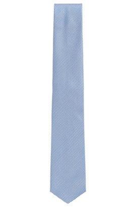Mens designer ties skinny ties silk ties bow ties hugo boss traveler gingham italian silk tie dark blue ccuart Choice Image