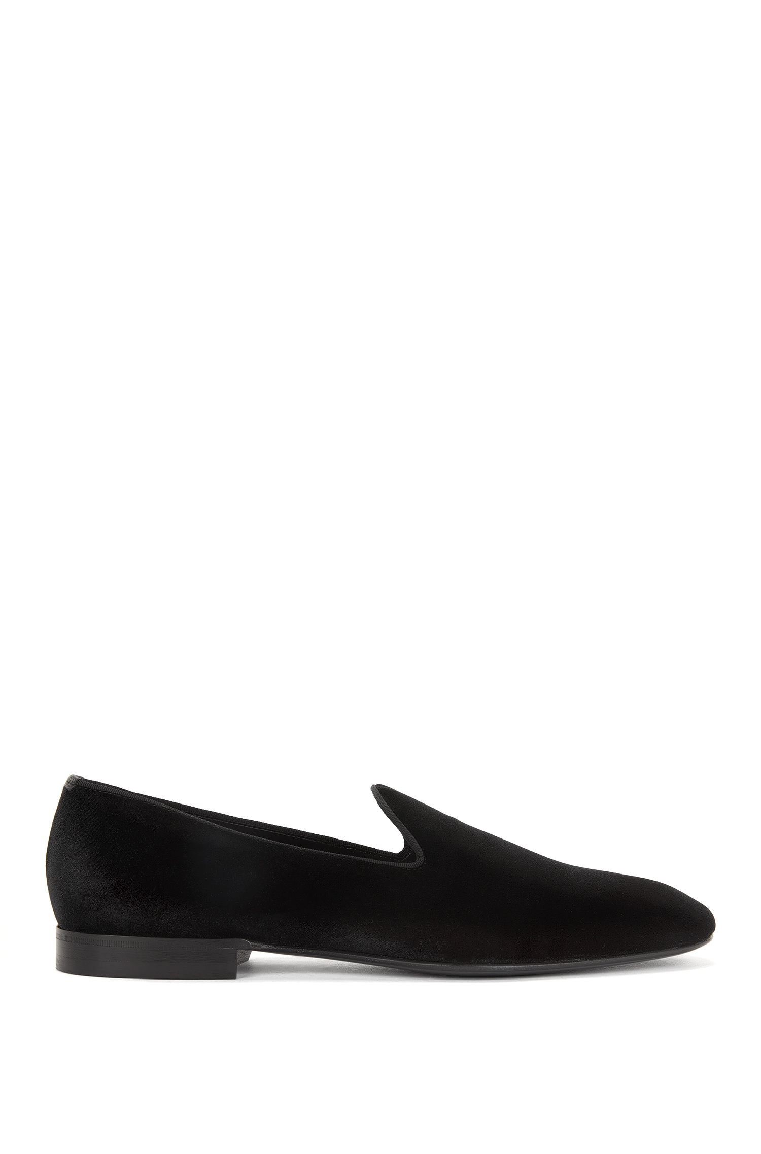 Velvet Opera Shoe | Glam , Black