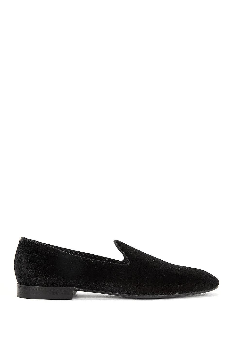 Velvet Opera Shoe | Glam , Black