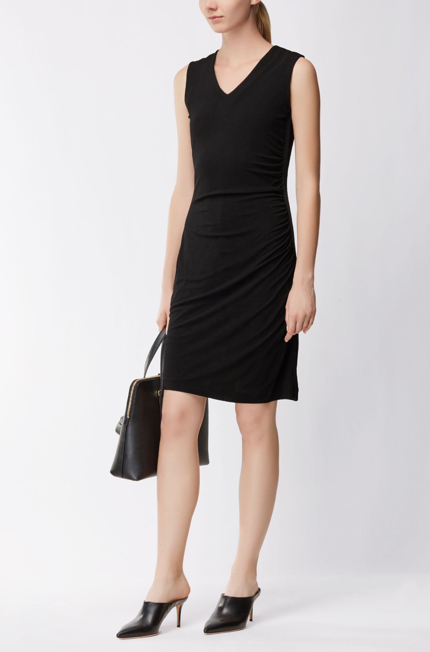 Ruched Sheath Dress | Erela