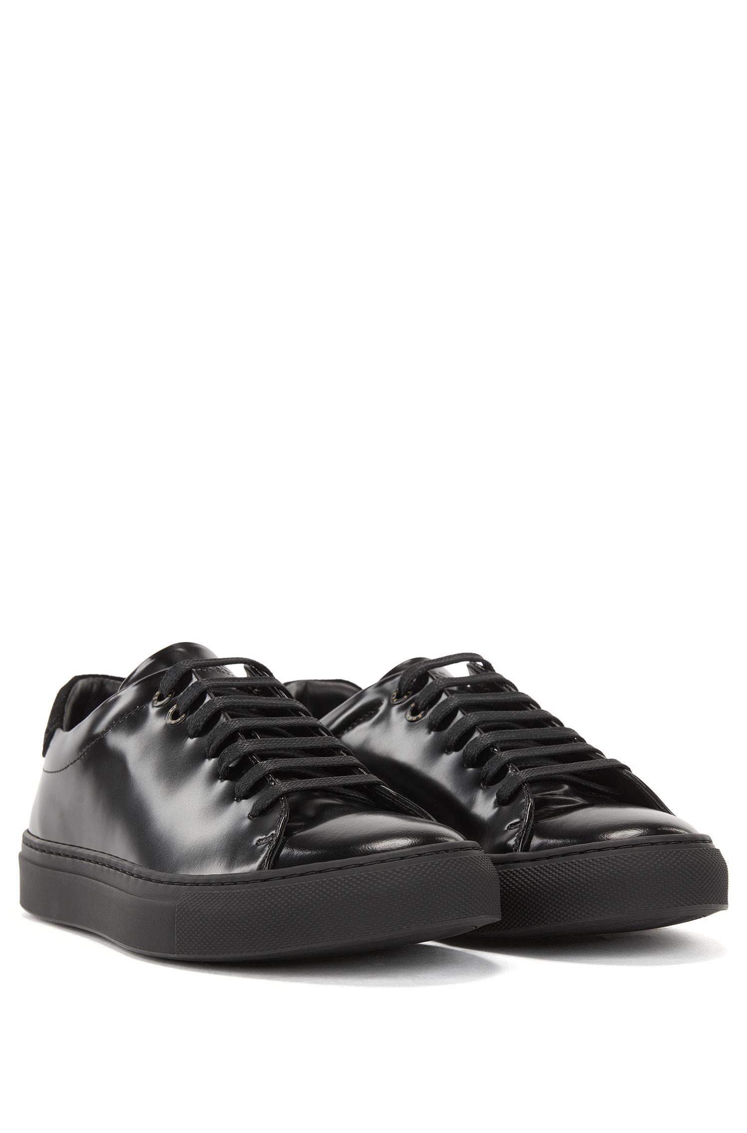 Leather Sneaker | Tenn Low Cut BB, Black