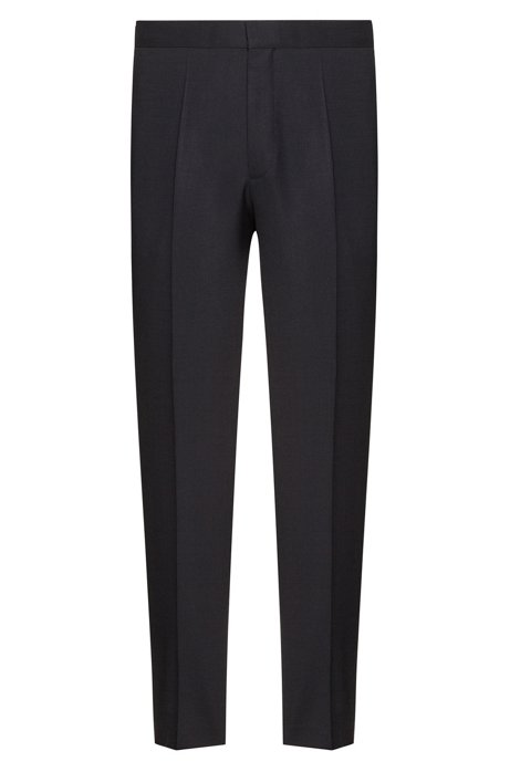 Really For Sale Good Selling Cheap Price Extra-slim-fit trousers in virgin wool HUGO BOSS dUSeSMZtz