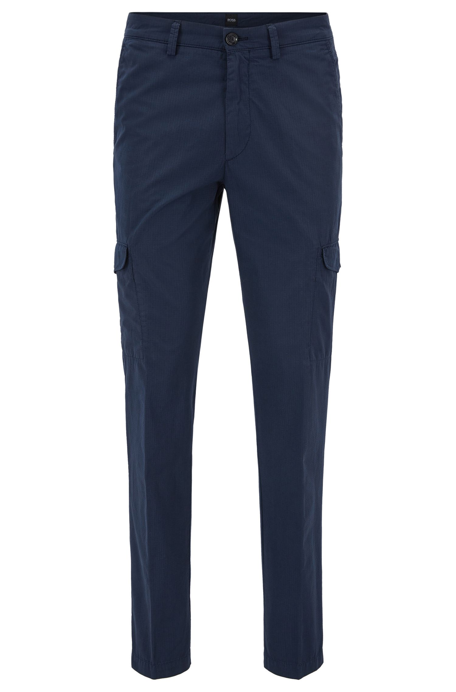 Cotton Cargo Pant, Tapered Fit | Kailo D